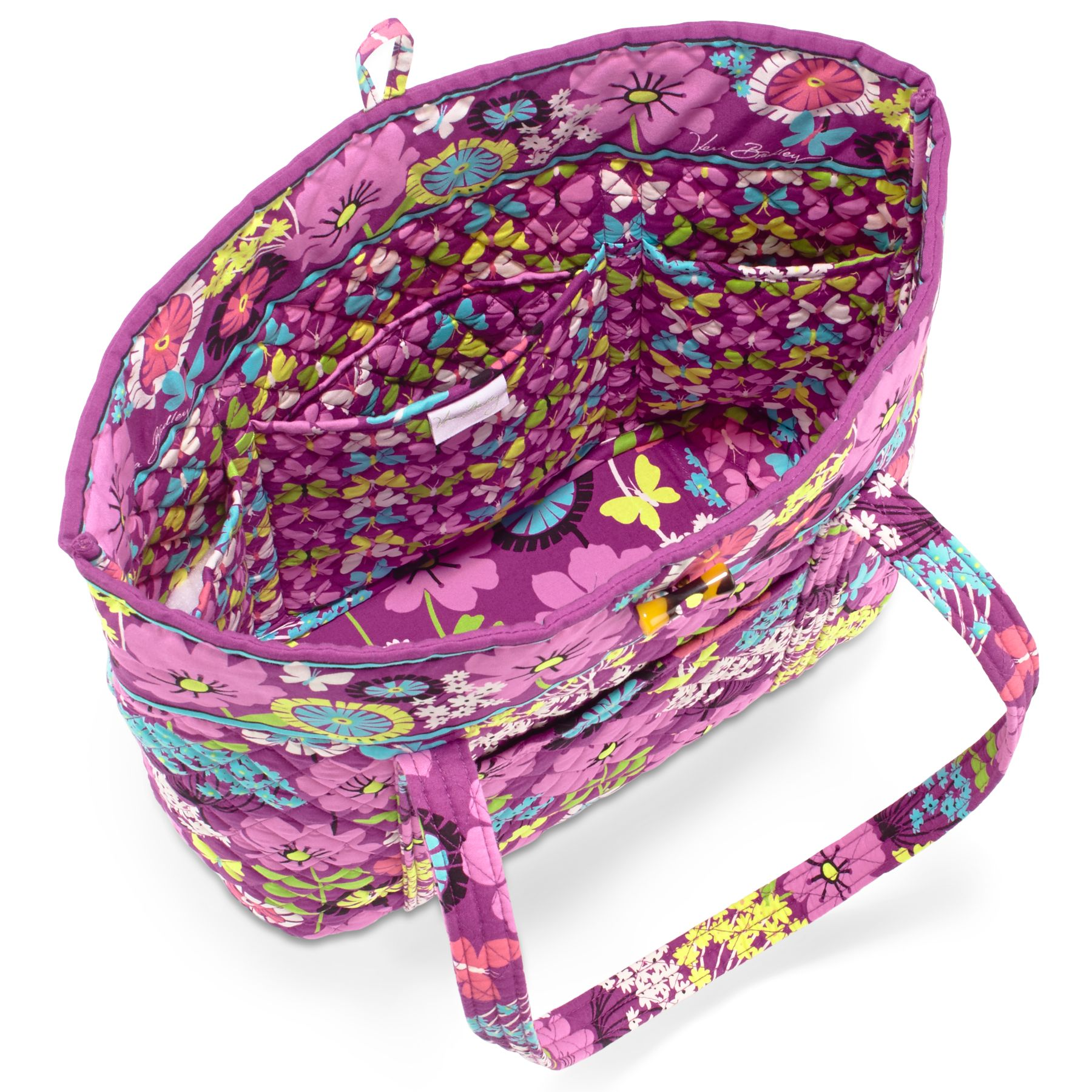 Vera Bradley Vera Tote Travel Bag Flutterby NWT You Choose