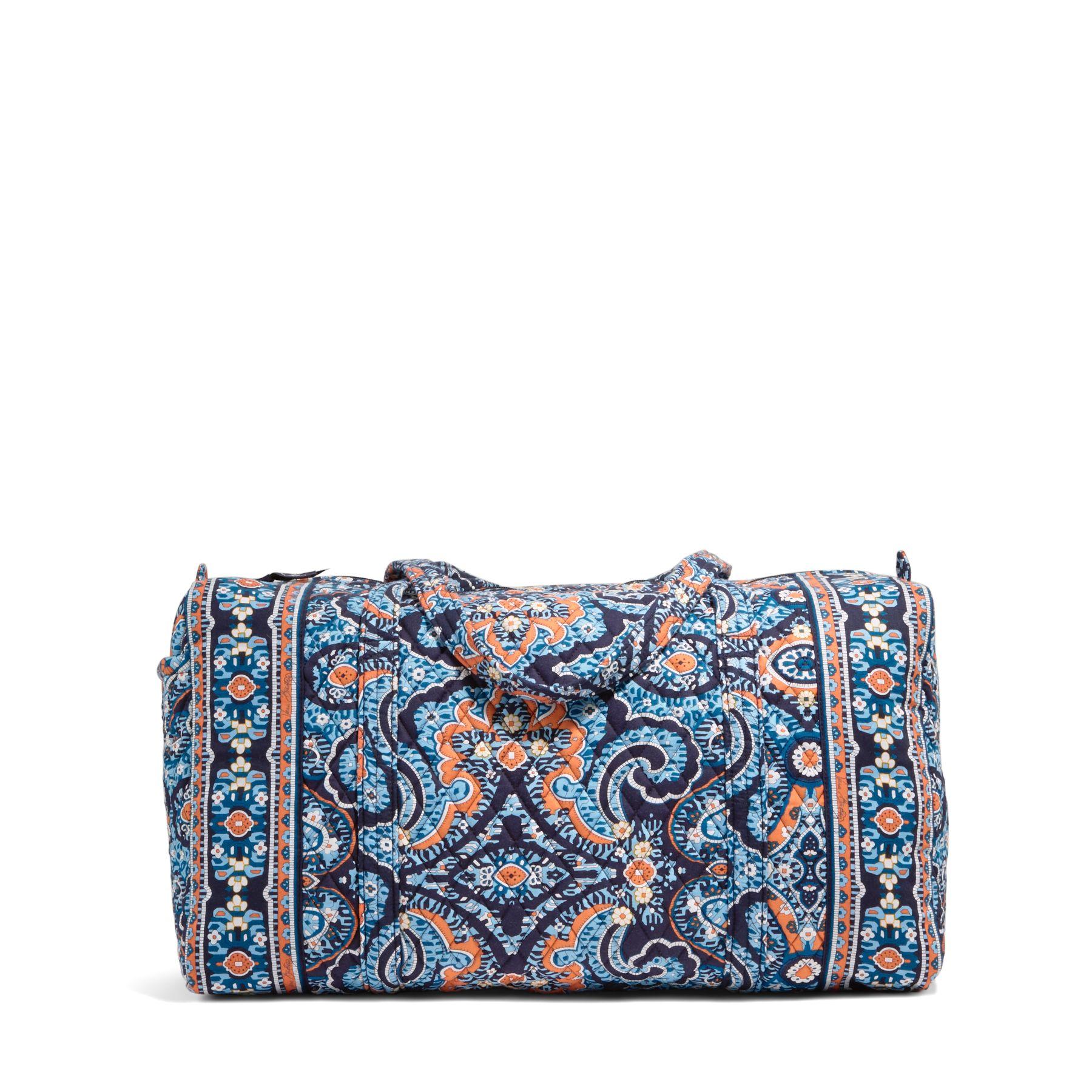 Vera Bradley Large Duffel Travel Bag in Marrakesh