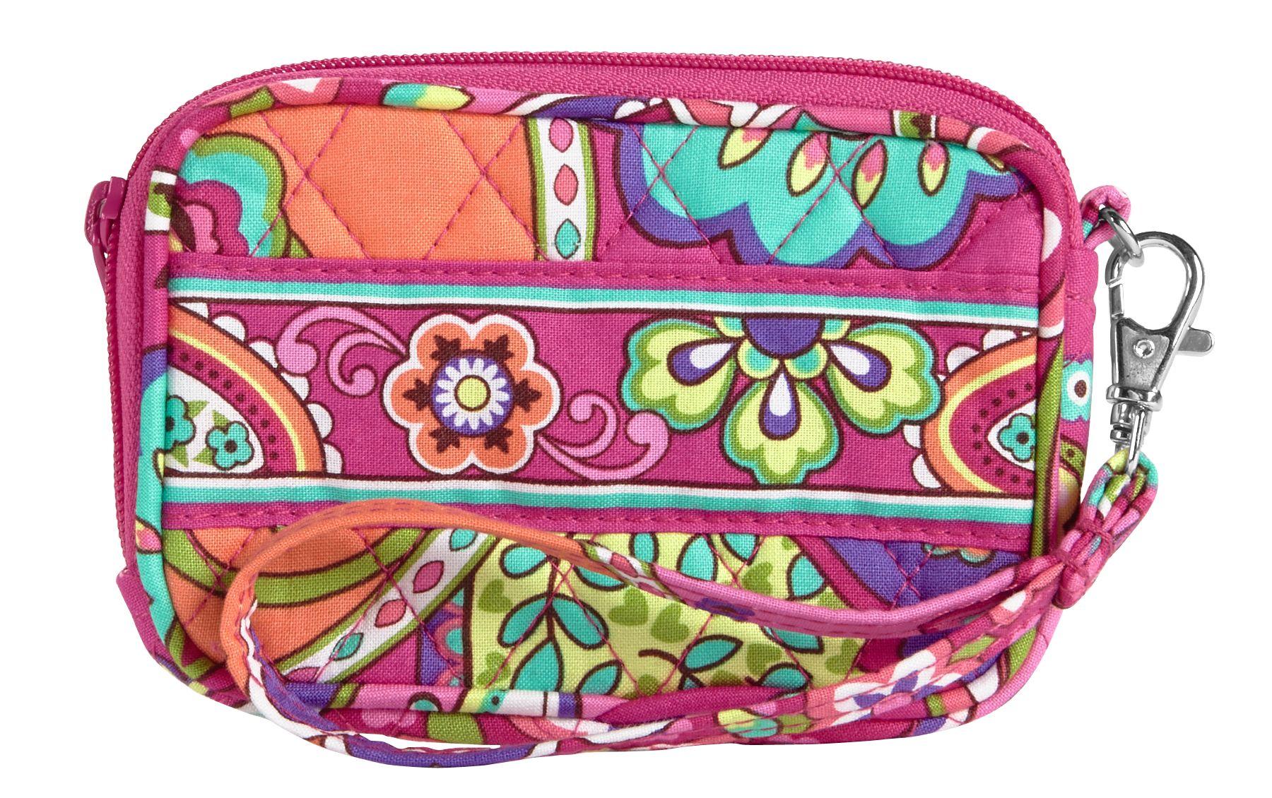 Vera Bradley Tech Case in Pink Swirls