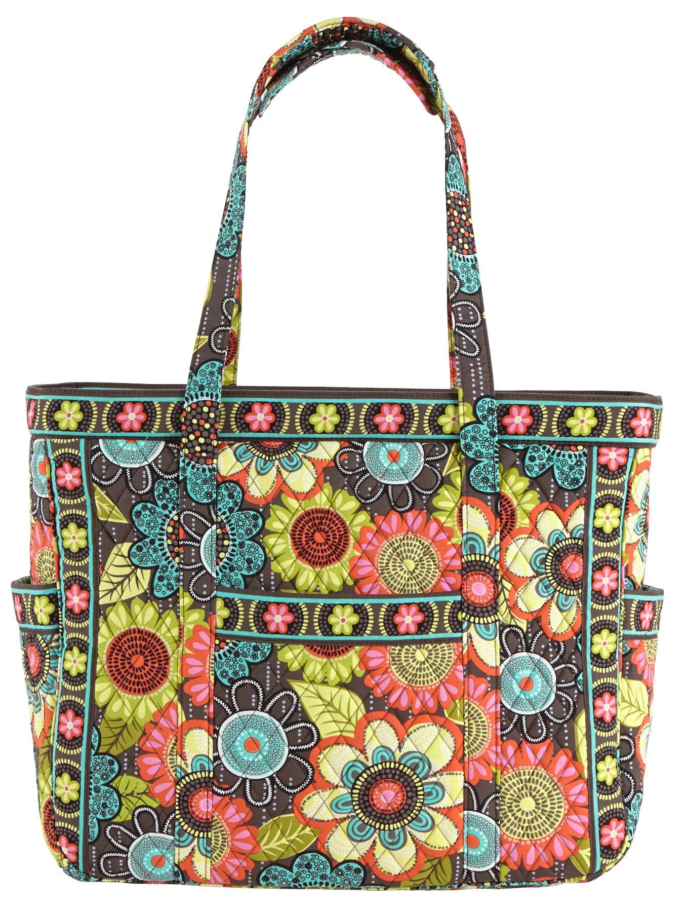 Flower shower usa for Vera bradley bathroom bag