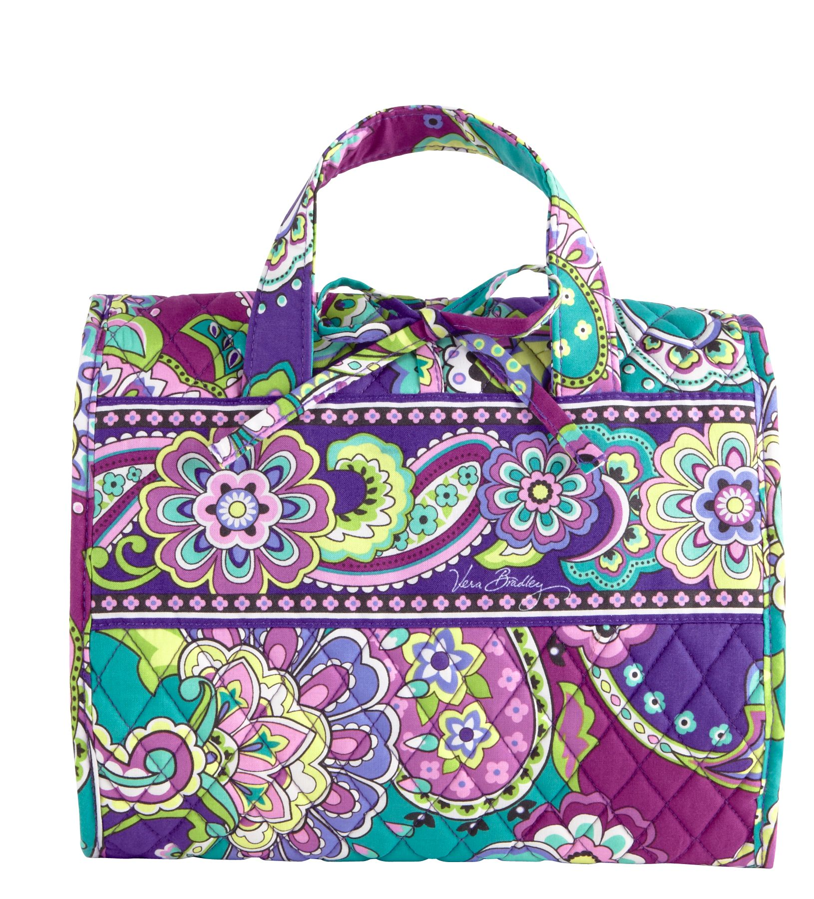 Vera Bradley Hanging Travel Organizer in Heather