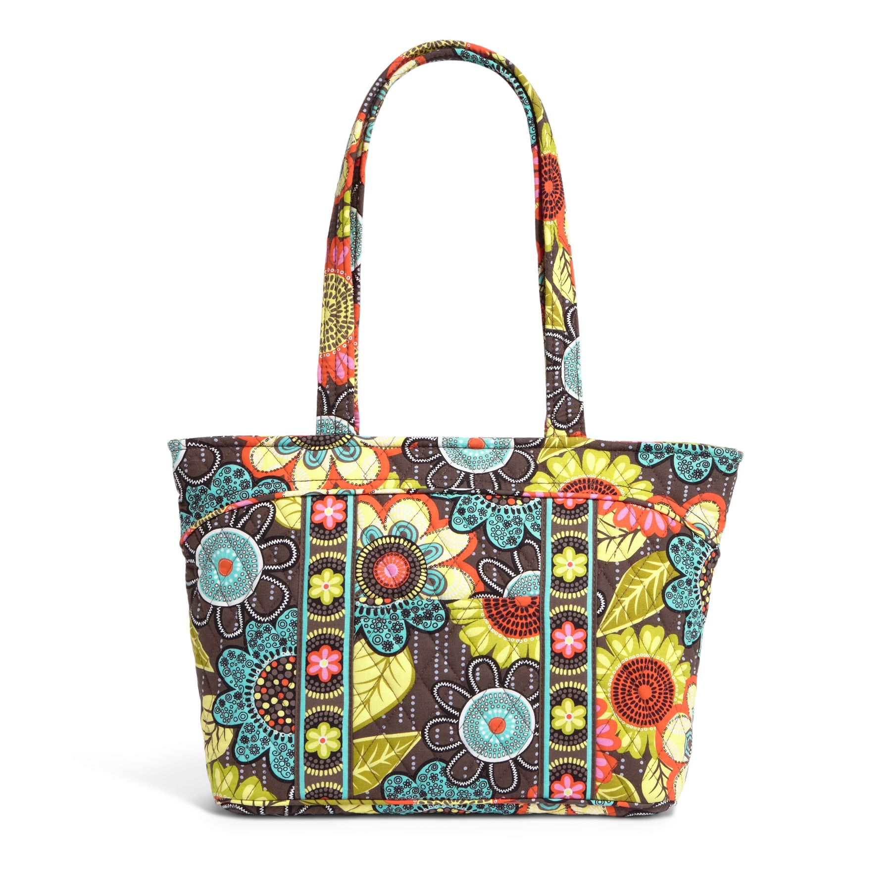 Vera Bradley Mandy Shoulder Bag in Flower Shower