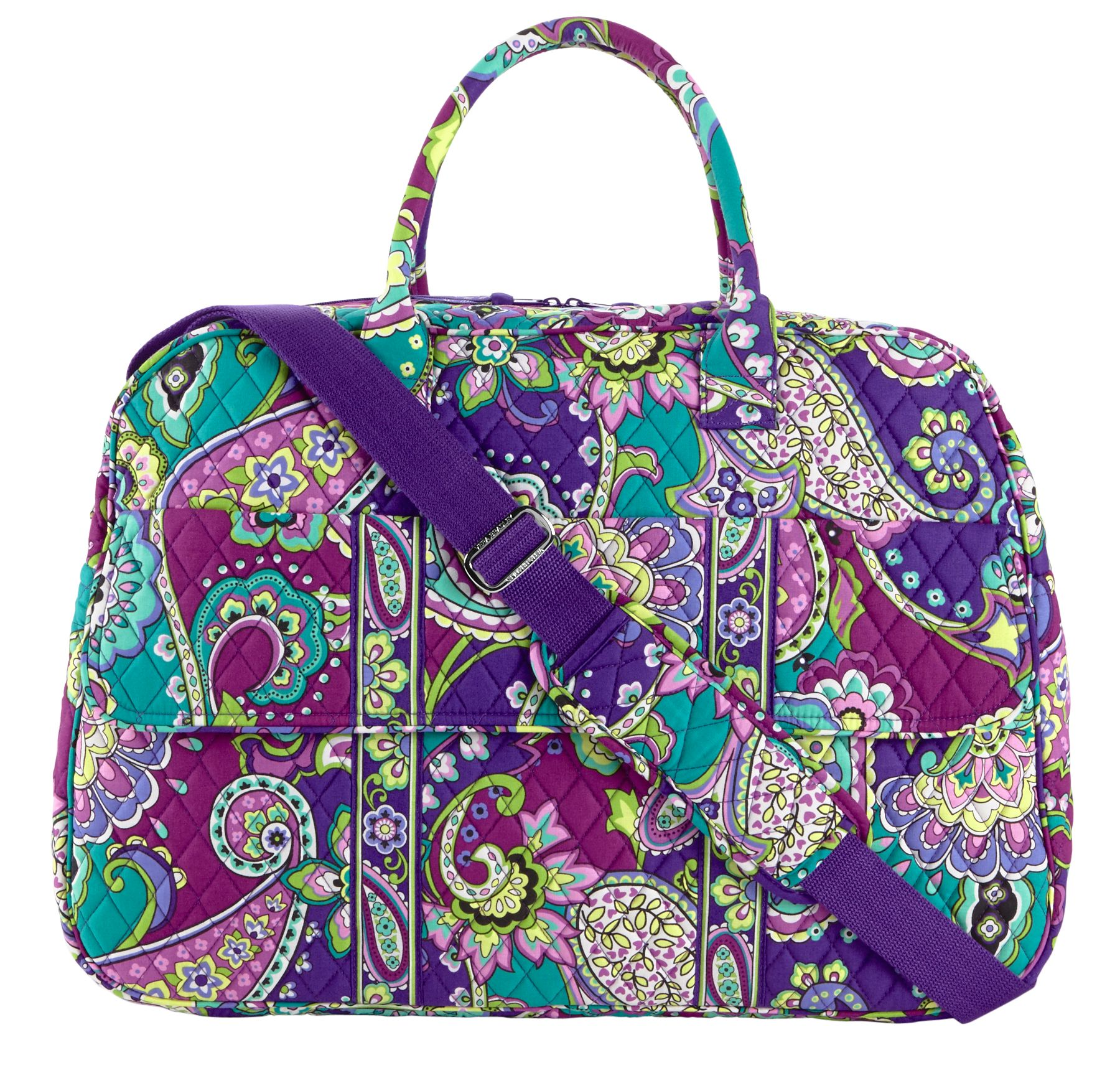 Vera Bradley Grand Traveler Bag in Heather