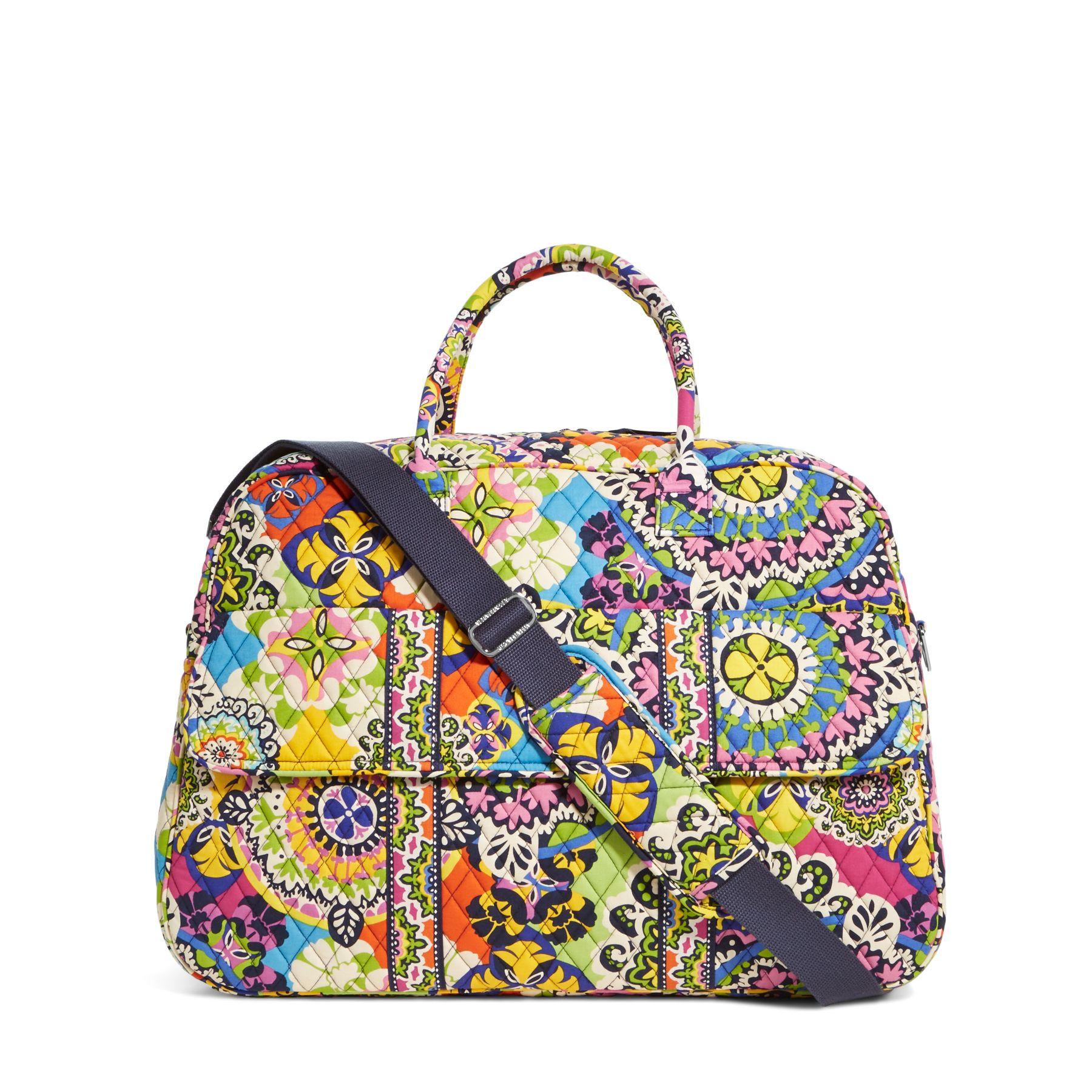 Vera Bradley Grand Traveler Bag in Rio