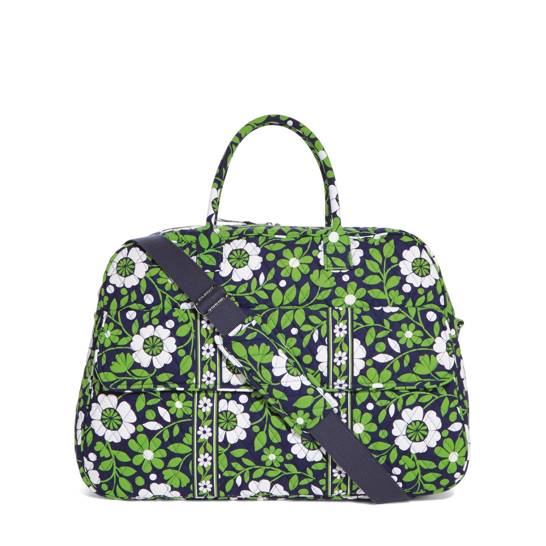 Vera Bradley Grand Traveler Bag in Lucky You