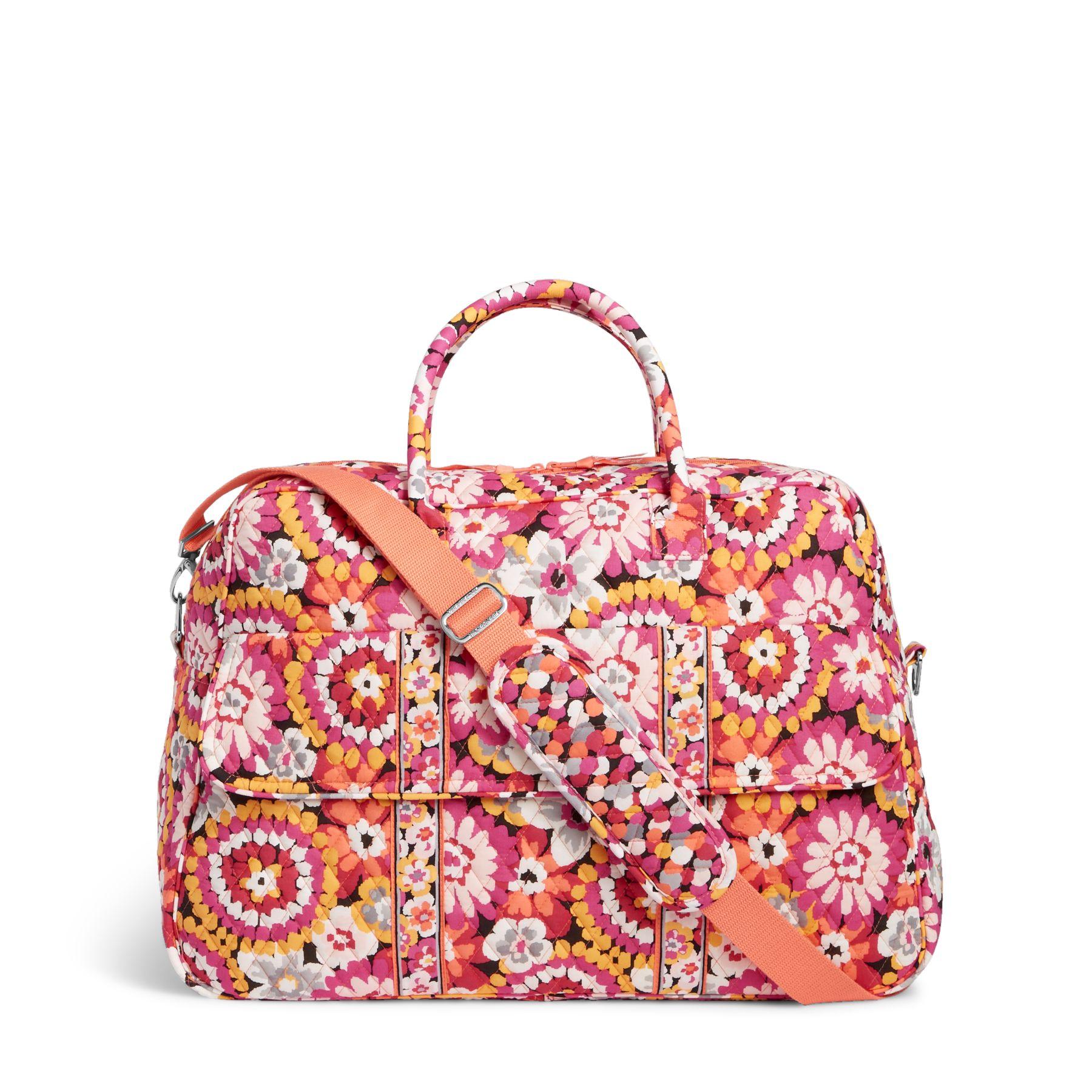 Vera Bradley Grand Traveler Bag in Pixie Blooms