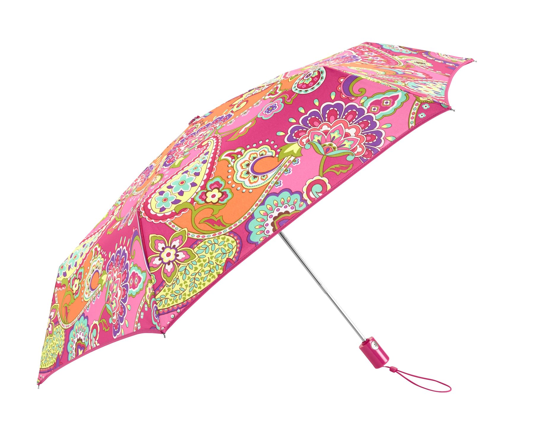 Vera Bradley Umbrella in Pink Swirls