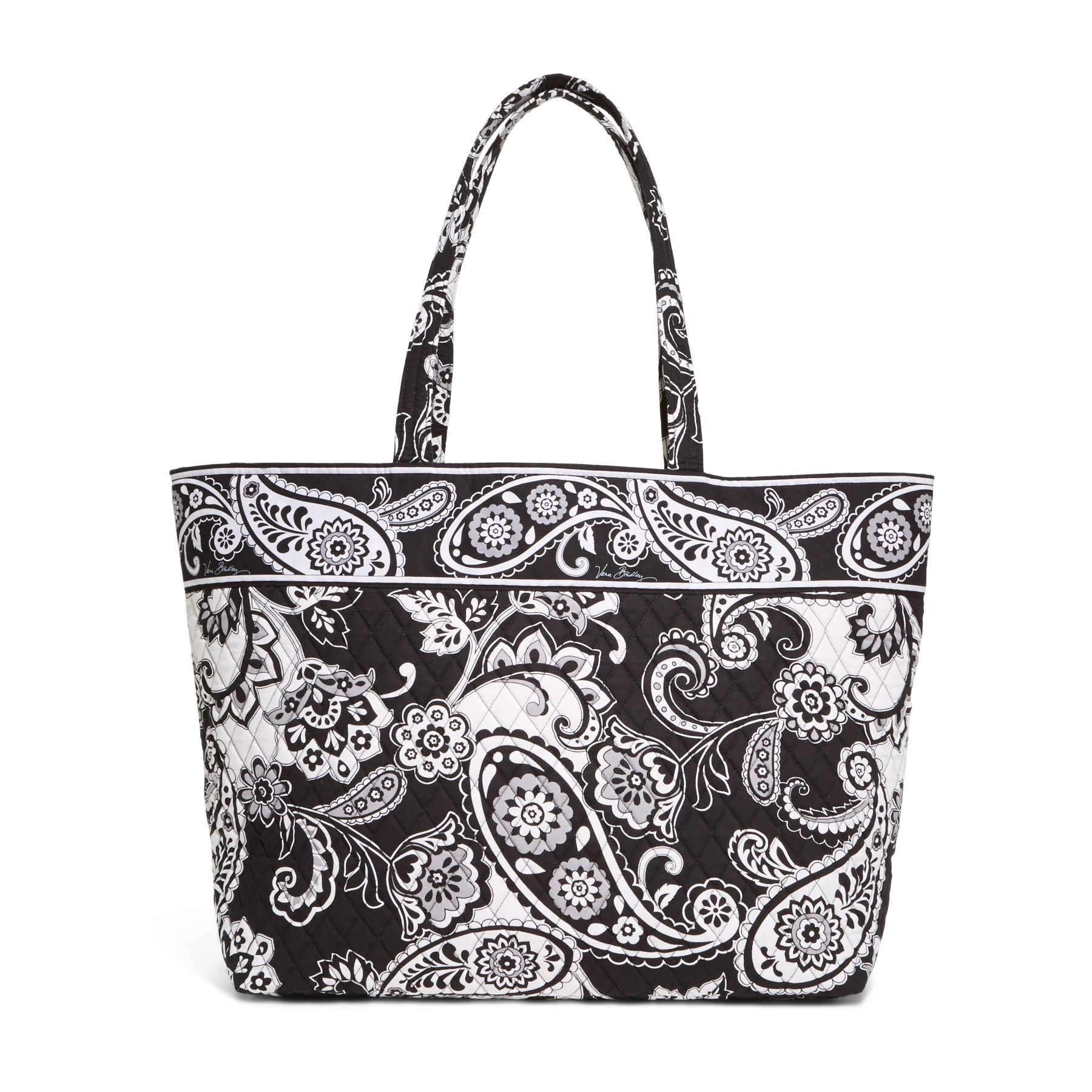 Vera Bradley Grand Tote in Midnight Paisley