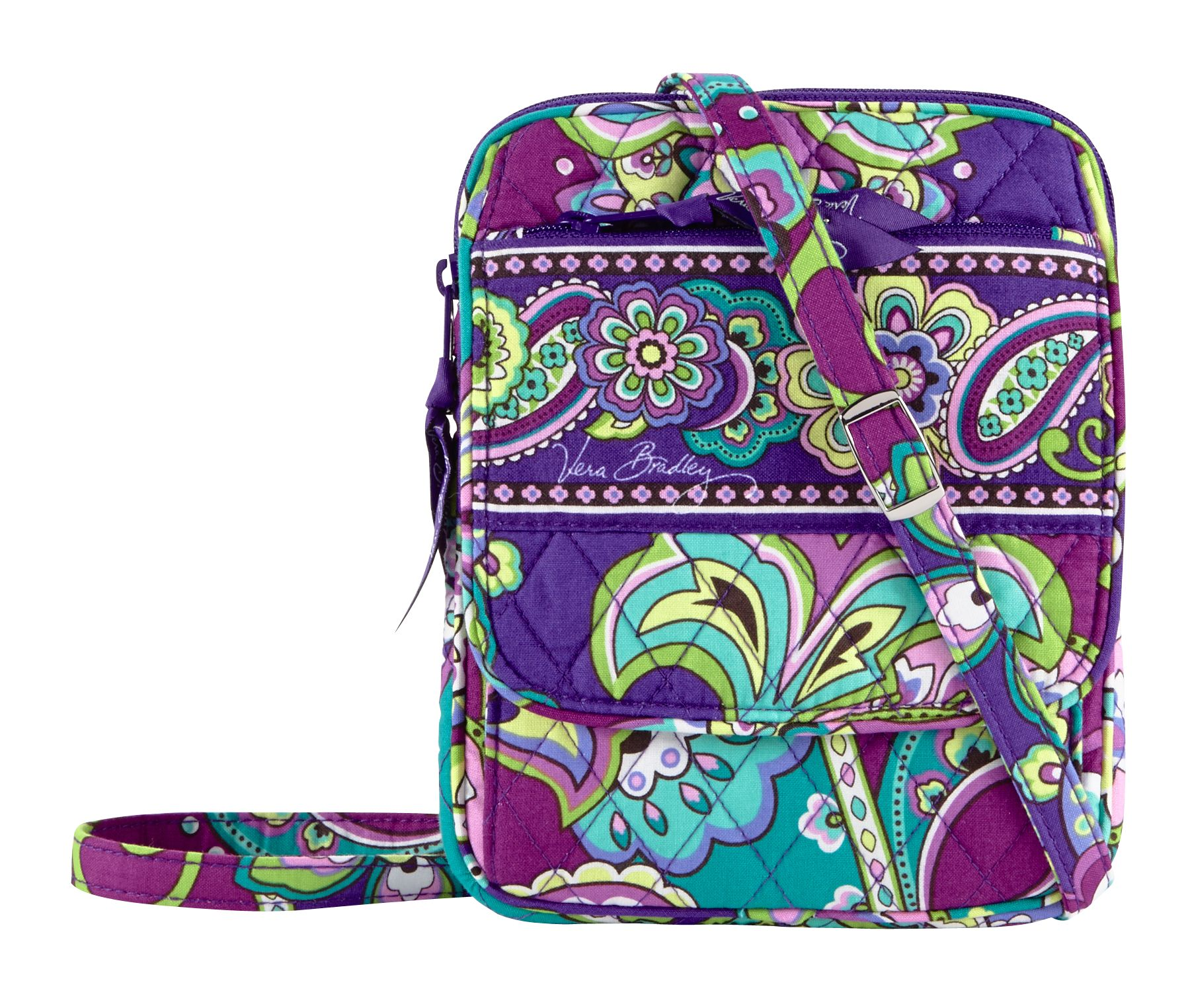 Vera Bradley Mini Hipster Crossbody in Heather