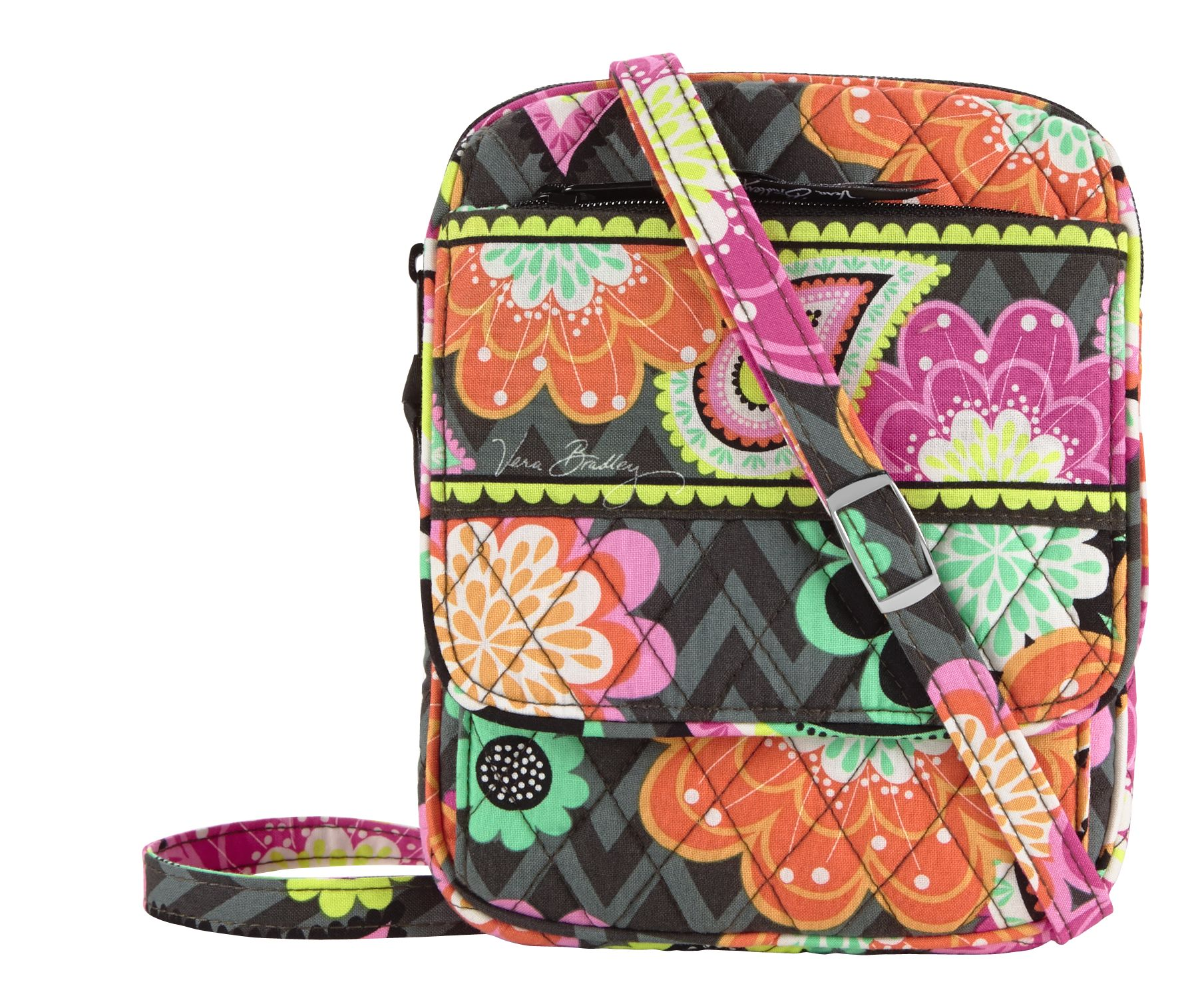 Vera Bradley Mini Hipster Crossbody in Ziggy Zinnia
