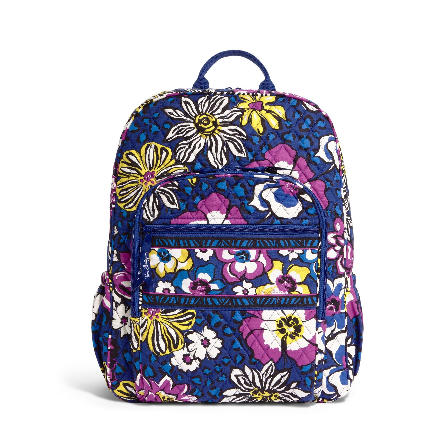 Vera Bradley Campus Backpack in African Violet
