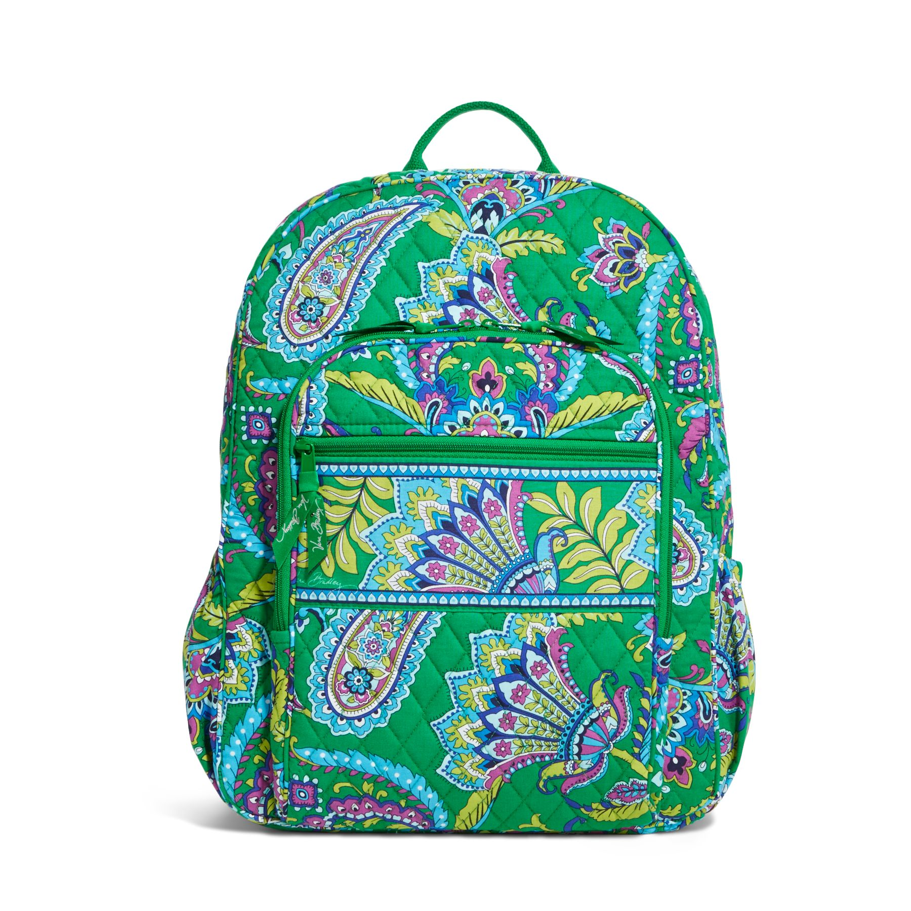 A vibrant print covers the Vera Bradley Iconic Campus Backpack for a free-spirited way to go hands-free. See at Macys. LINKSHARE. Vera Bradley Vera Bradley Iconic Campus Backpack Macys $ $ Vera Bradley. Vera Bradley Iconic Campus Backpack (Coral Reef) Backpack Bags $