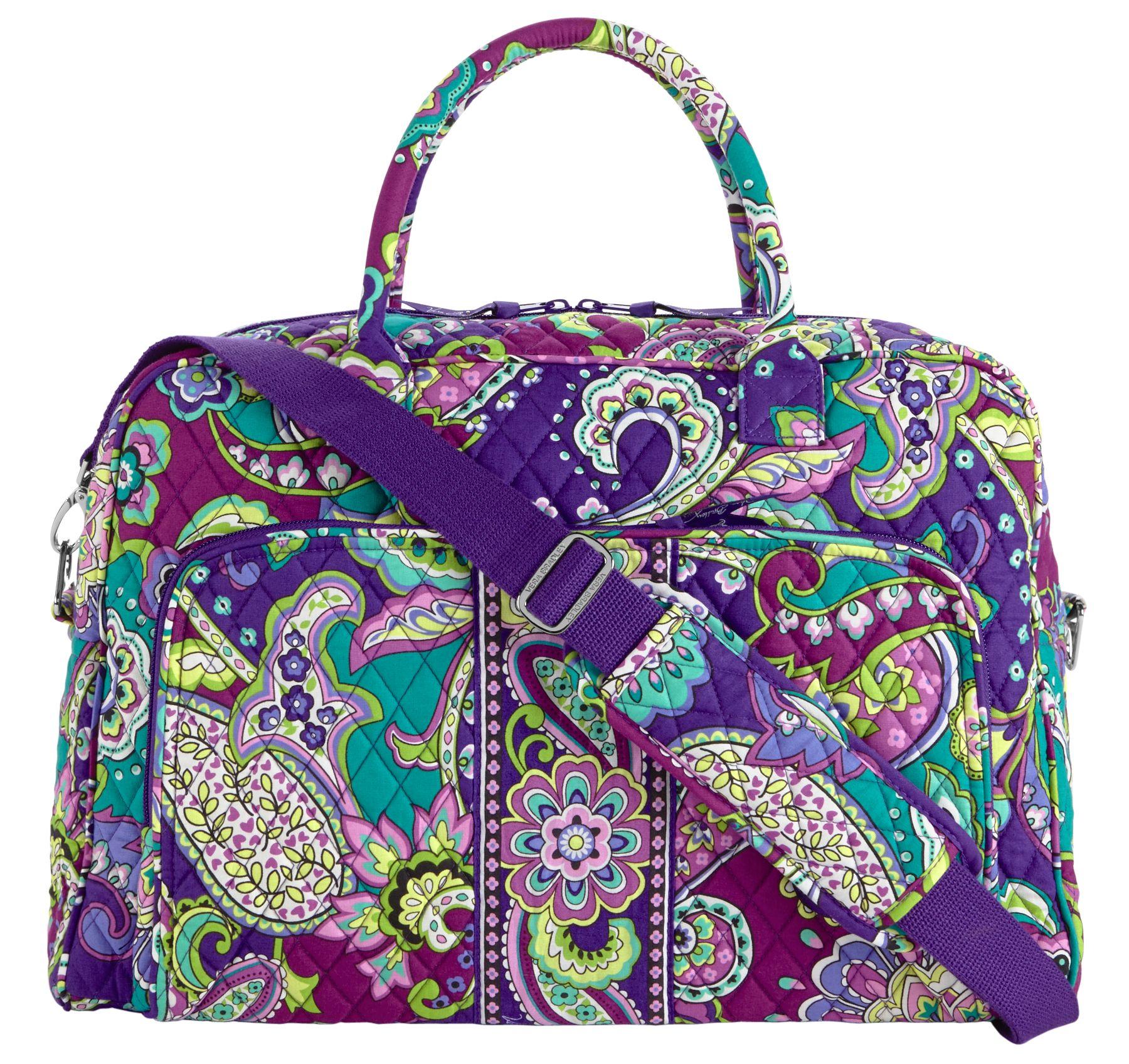 Vera Bradley Weekender Travel Bag in Heather