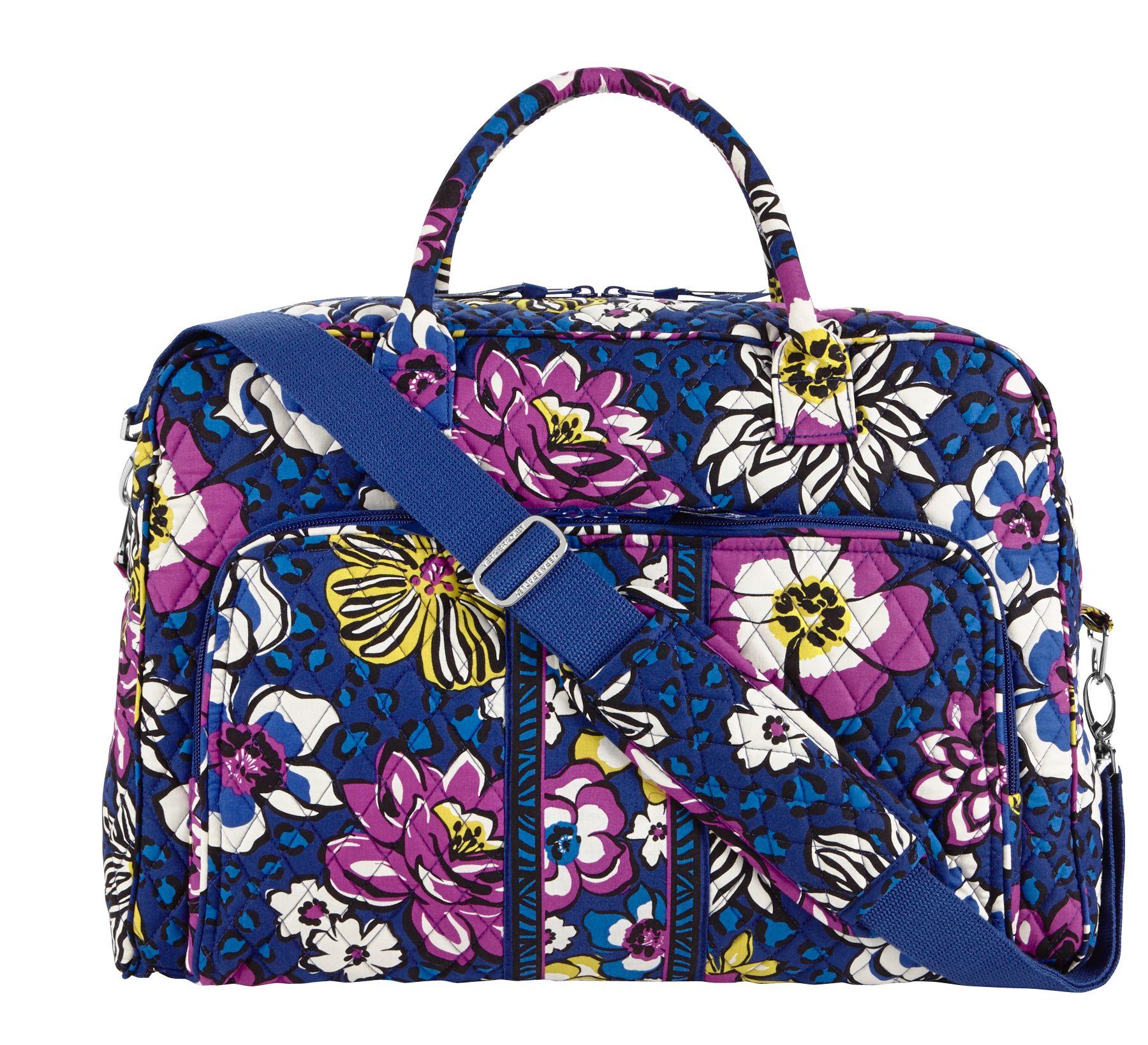 Vera Bradley Weekender Travel Bag in African Violet