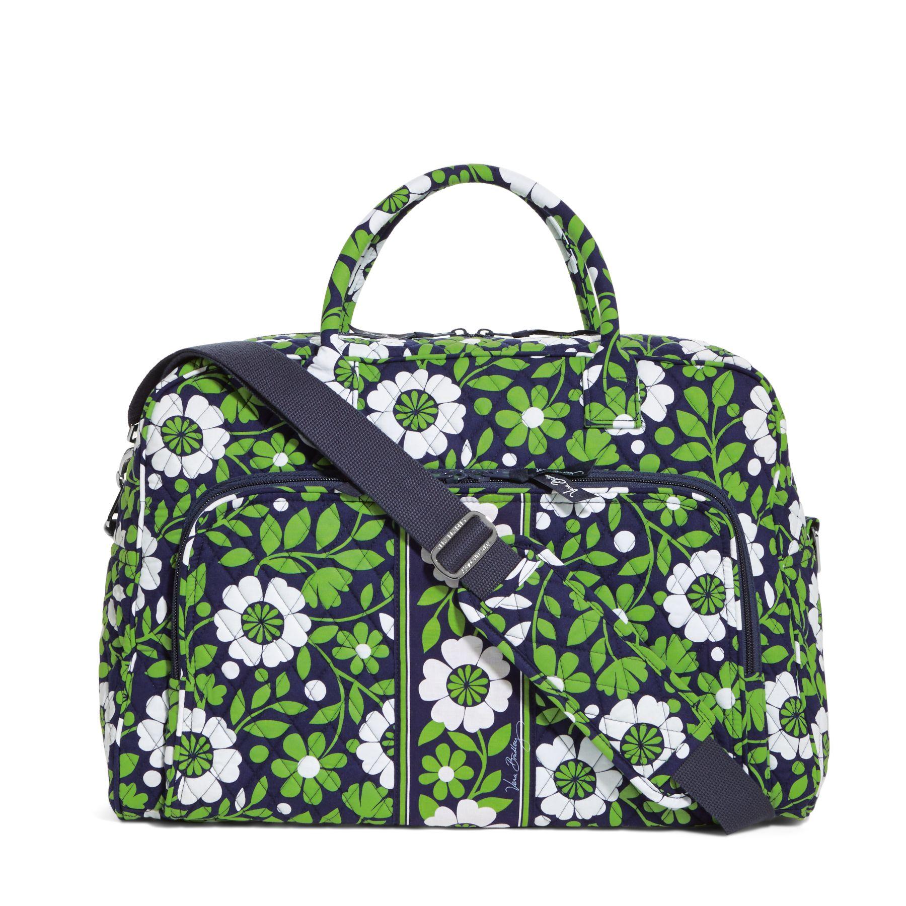 Vera Bradley Weekender Travel Bag in Lucky You
