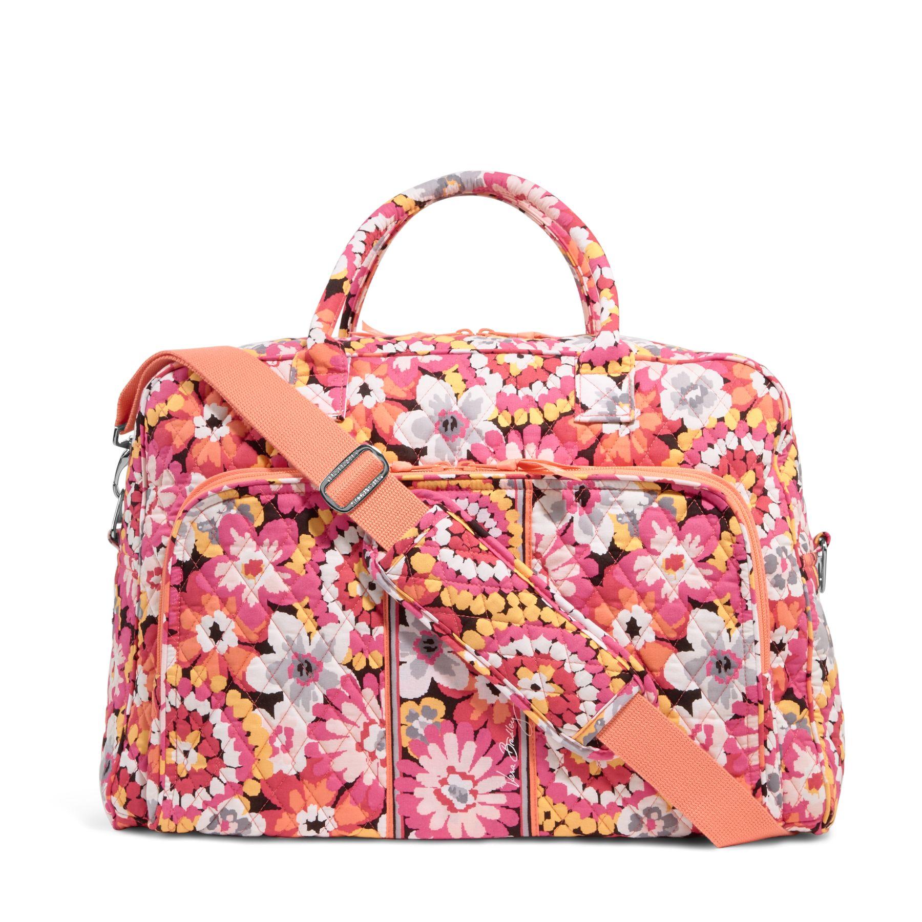 Vera Bradley Weekender Travel Bag in Pixie Blooms