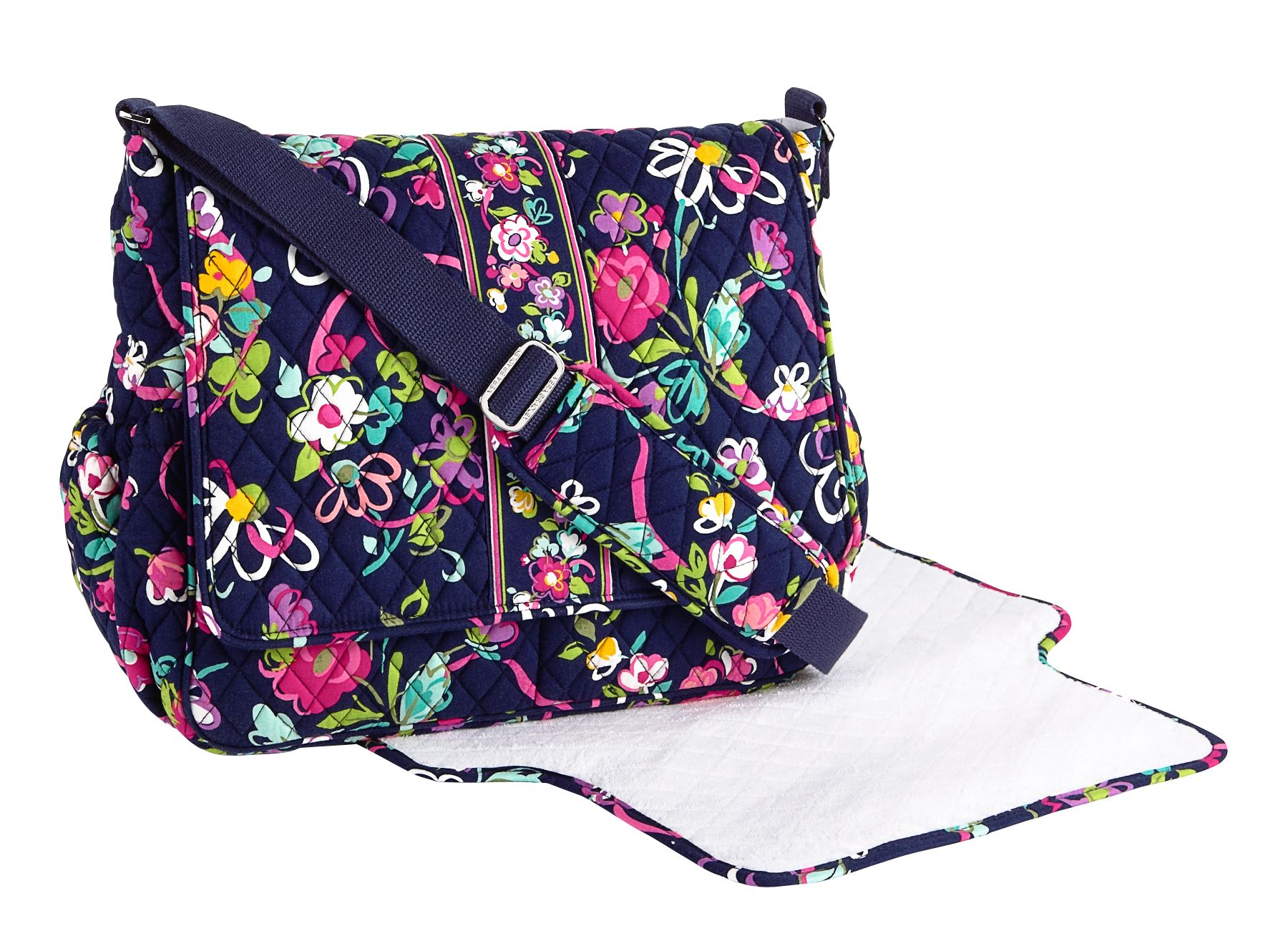 vera bradley flap shoulder bag review jenna shoulder bag. Black Bedroom Furniture Sets. Home Design Ideas