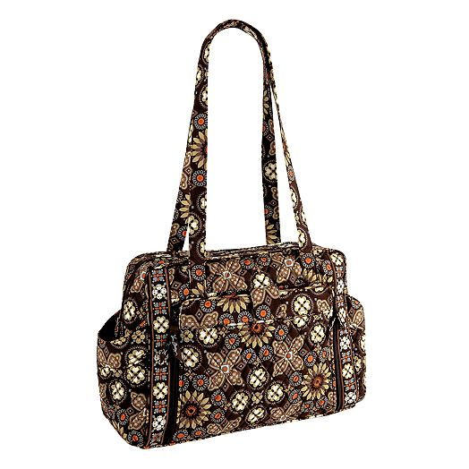 vera bradley handbags vera bradley baby bag in baroque. Black Bedroom Furniture Sets. Home Design Ideas