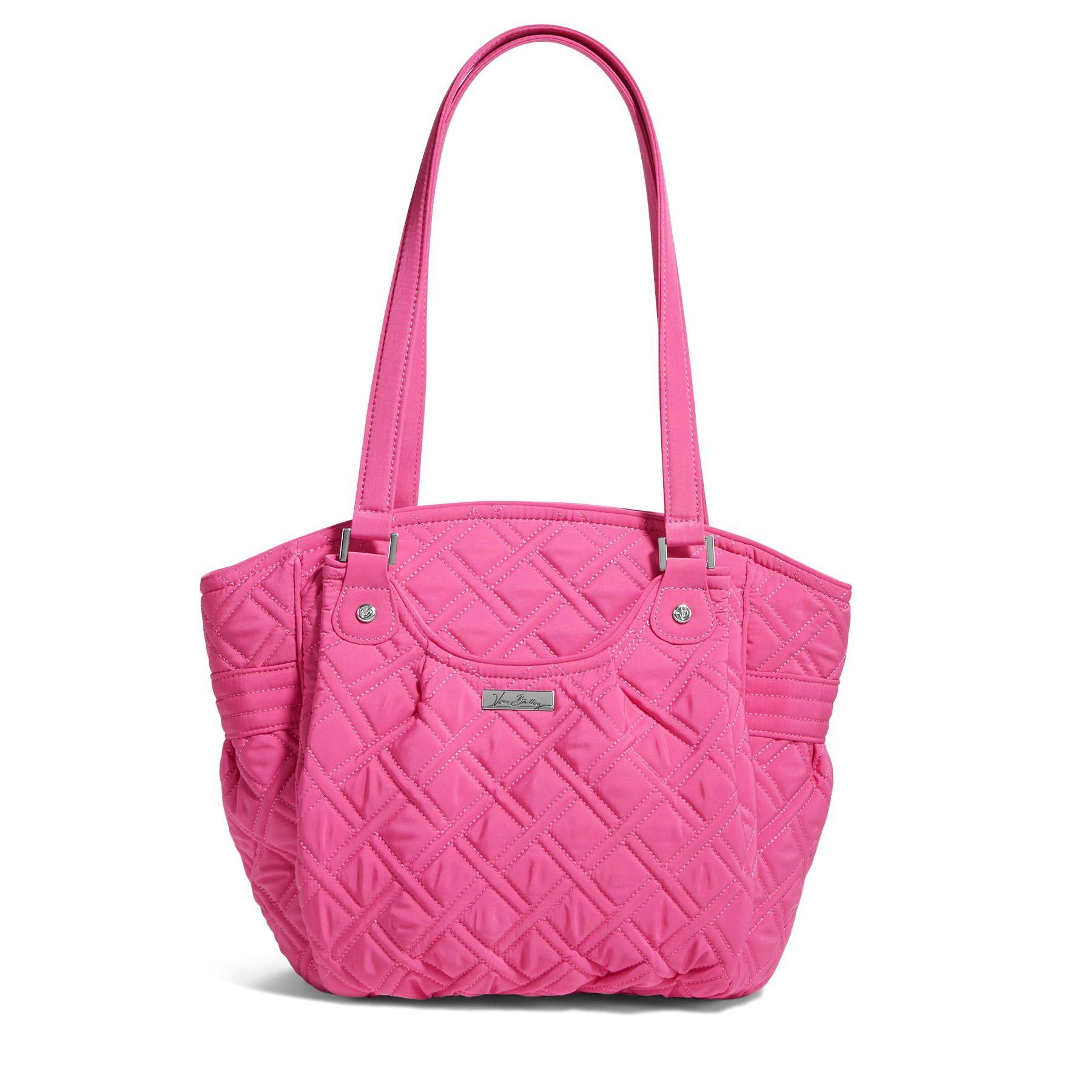 Vera Bradley Glenna Shoulder Bag in Fuchsia