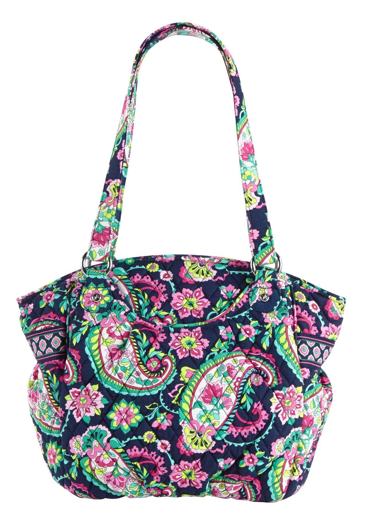Vera Bradley Glenna Shoulder Bag in Petal Paisley