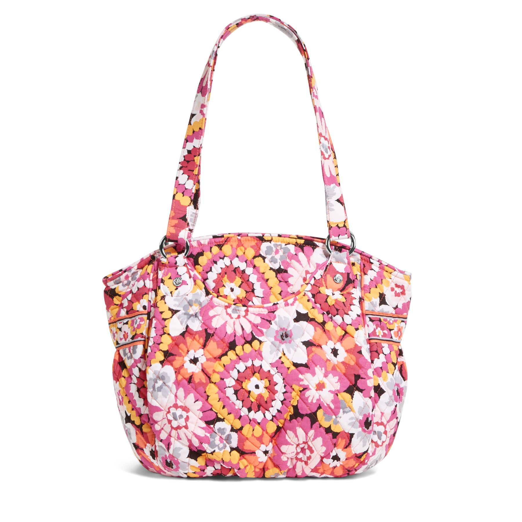 Vera Bradley. Every woman should own at least one head-turning bag. Vera Bradley, known for their feminine prints, will standout and satisfy your craving for color with their selection of luggage, handbags, wallets and more.