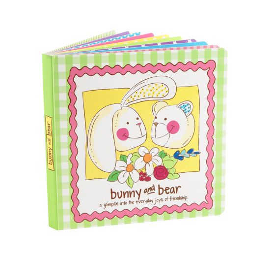 Bunny and Bear Book in No Color