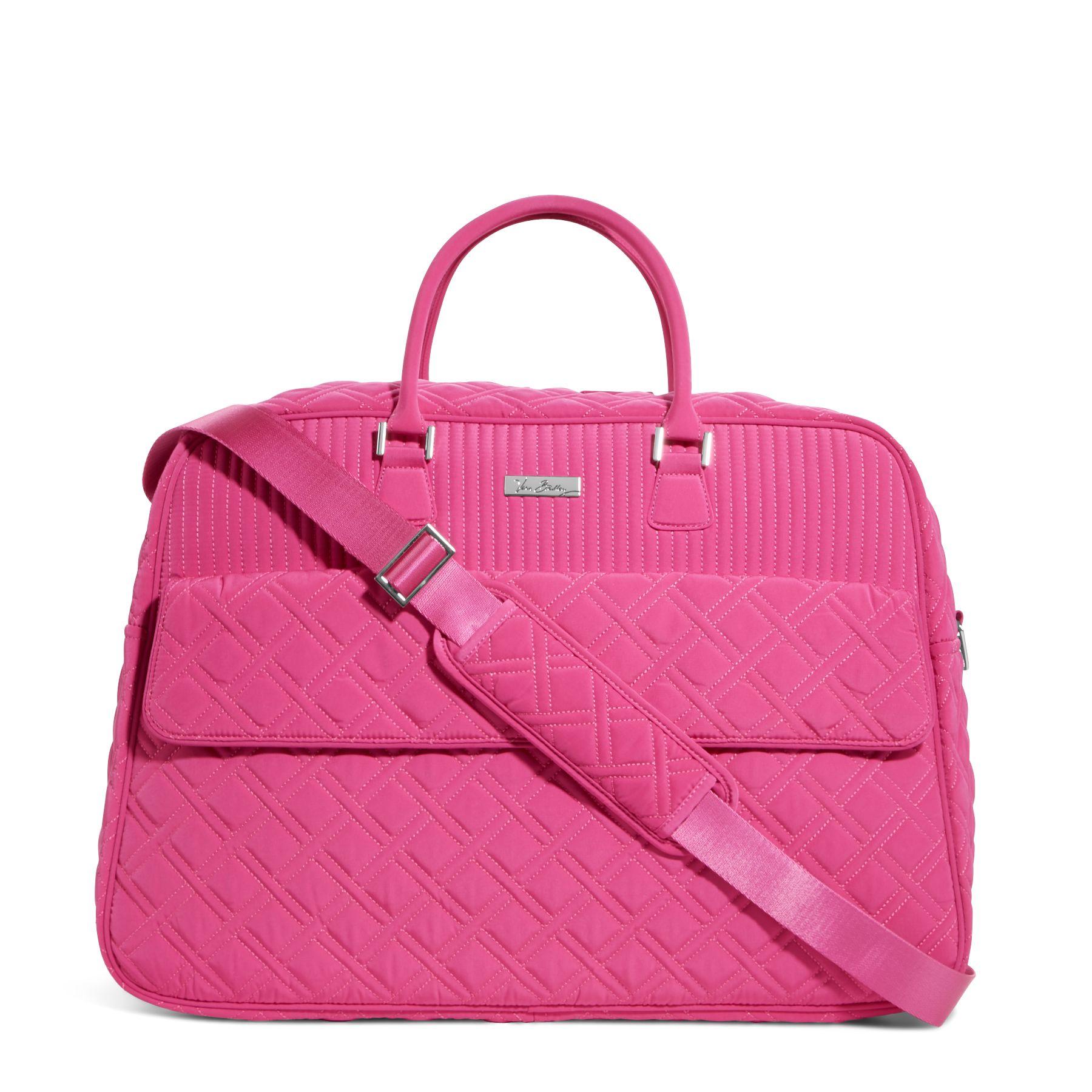 Vera Bradley Grand Traveler Bag in Fuchsia