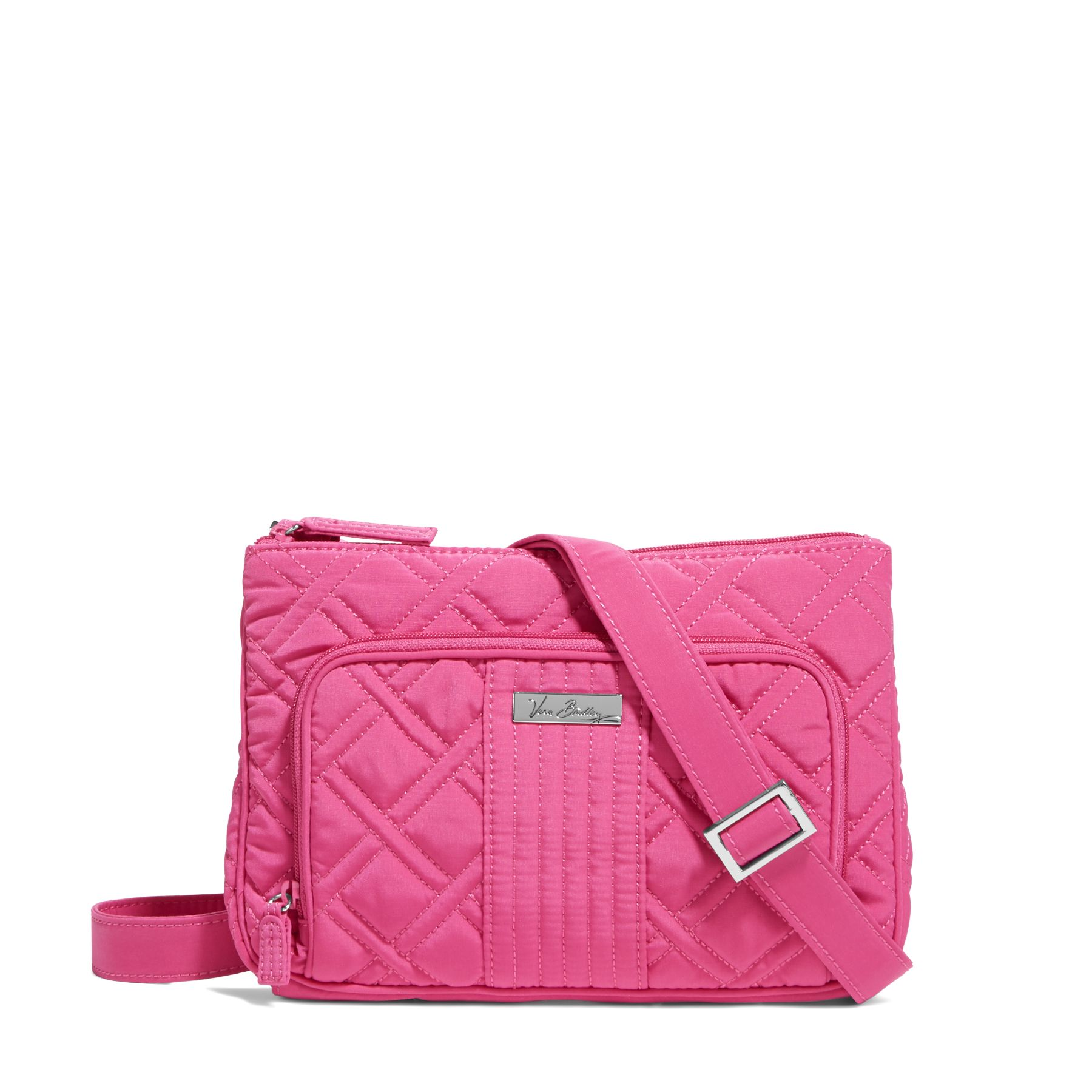 Vera Bradley Little Hipster Crossbody in Fuchsia