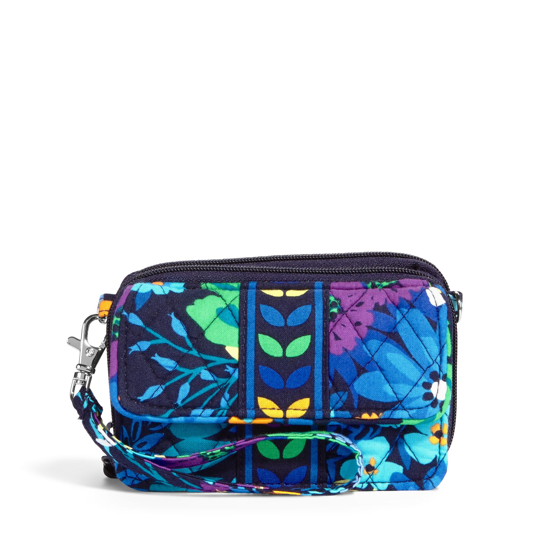 Vera Bradley All in One Crossbody and Wristlet in Midnight Blues