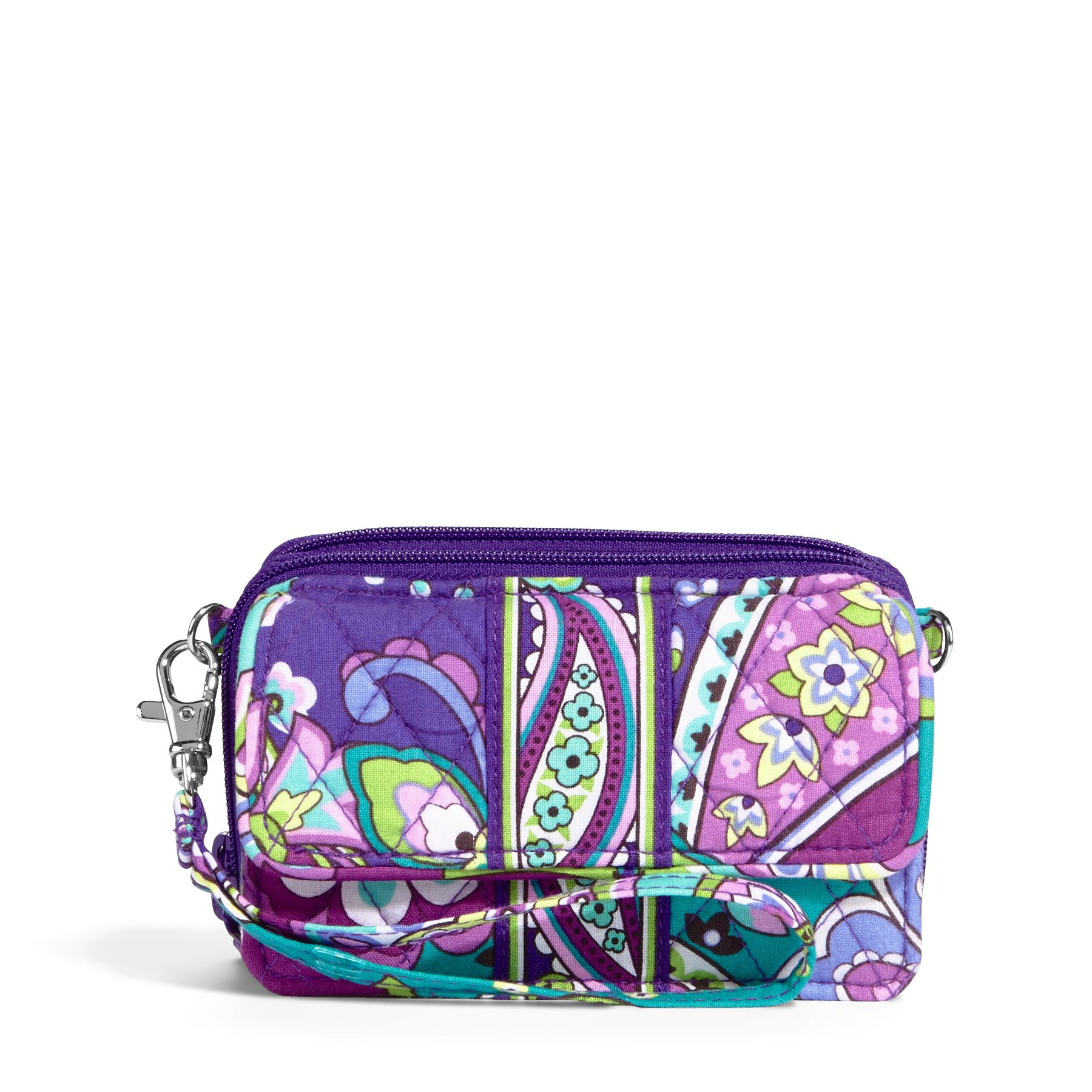 Vera Bradley All in One Crossbody and Wristlet in Heather