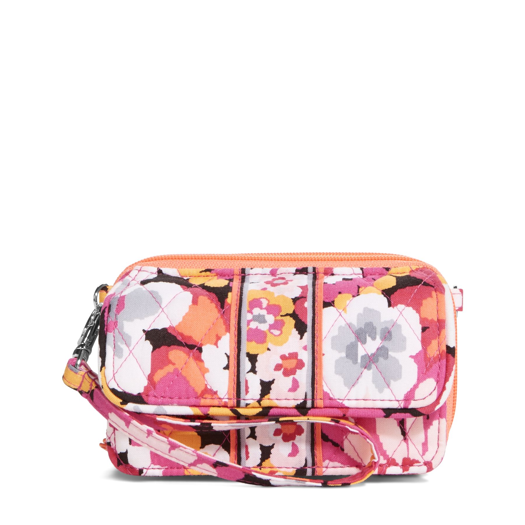 Vera Bradley All in One Crossbody and Wristlet in Pixie Blooms