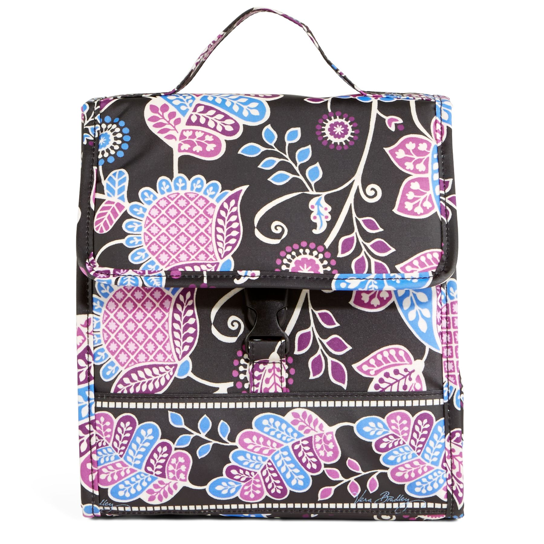 Vera Bradley Lunch Sack Bag in Alpine Floral