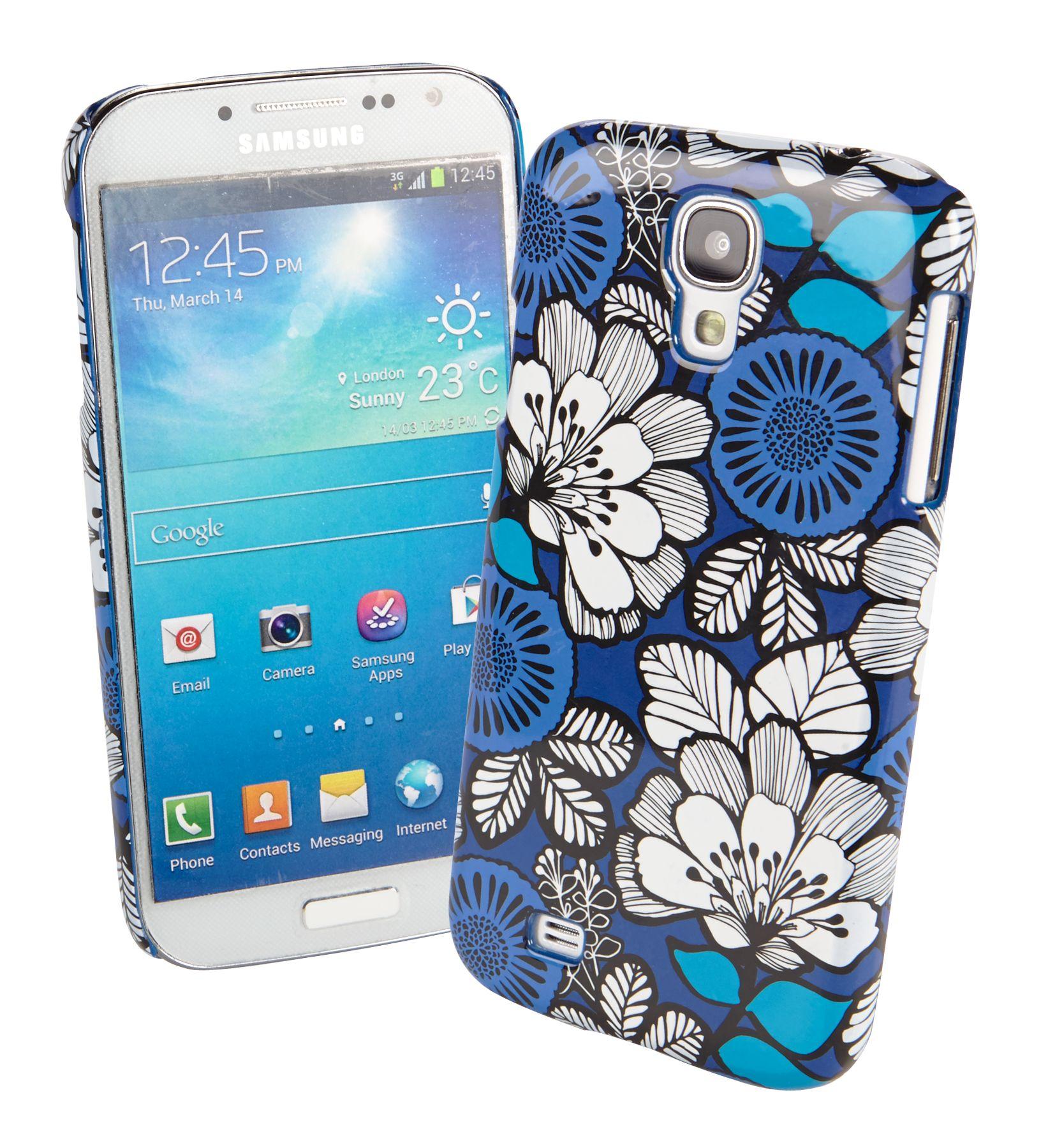Vera Bradley Snap on Case for Samsung Galaxy S III in Blue Bayou