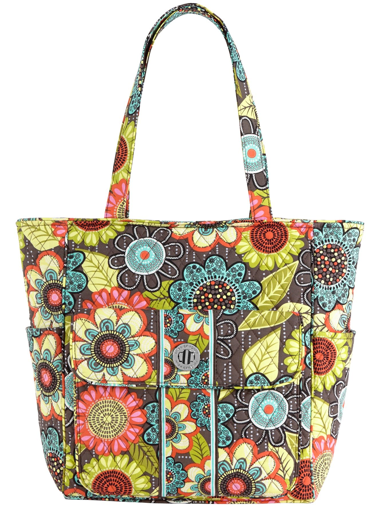 Vera Bradley Tablet Tote in Flower Shower