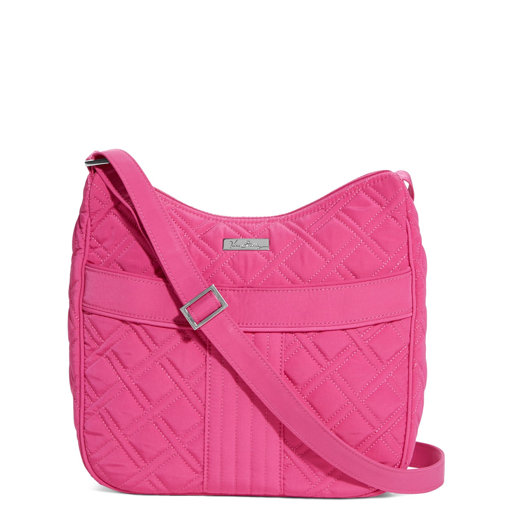 Vera Bradley Carryall Crossbody in Fuchsia