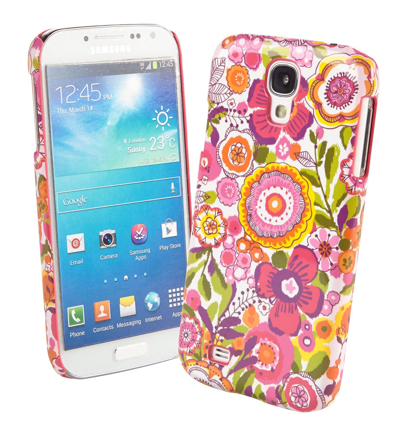 Vera Bradley Snap on Case for Samsung Galaxy S 4 in Clementine