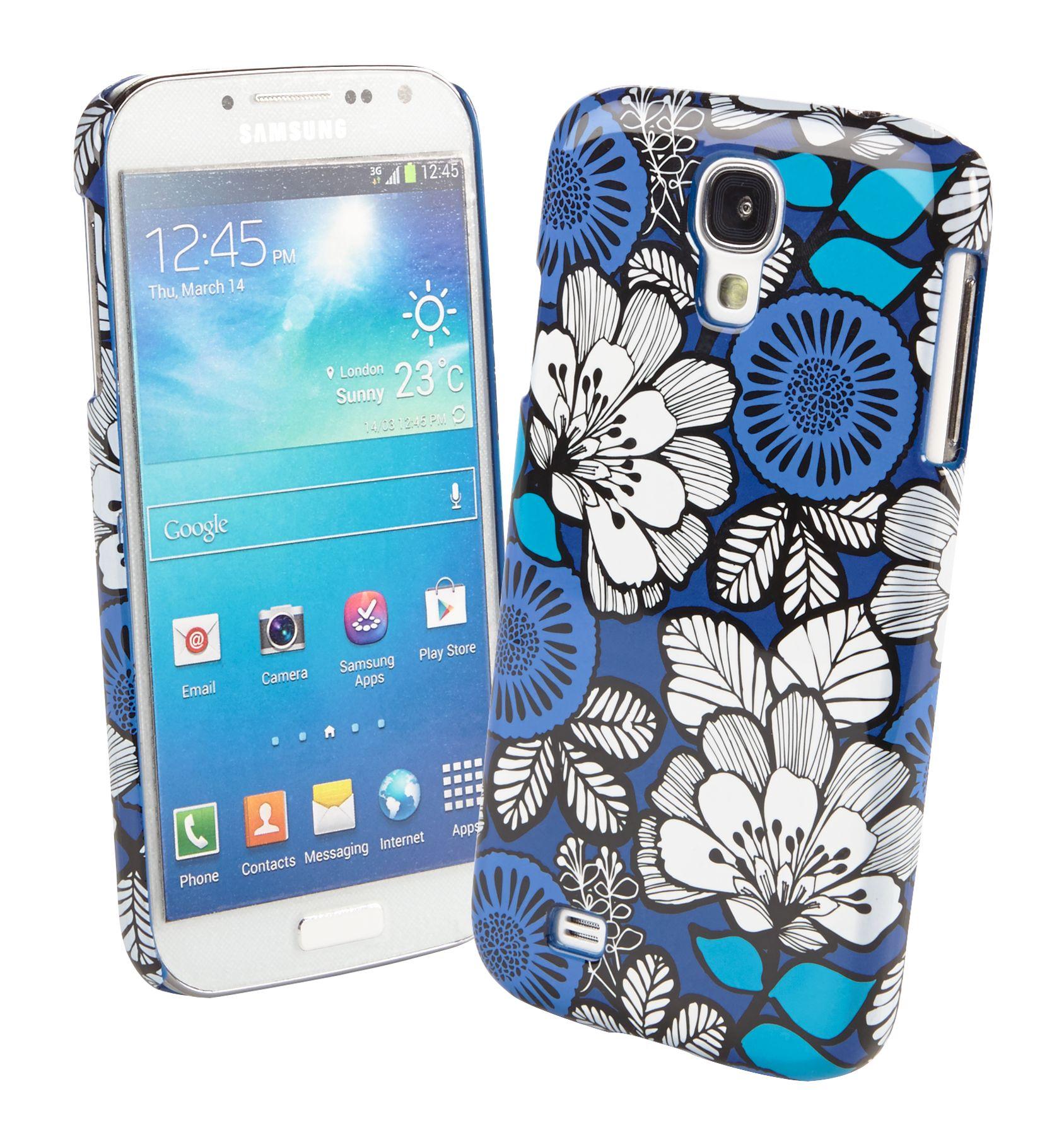 Vera Bradley Snap on Case for Samsung Galaxy S 4 in Blue Bayou