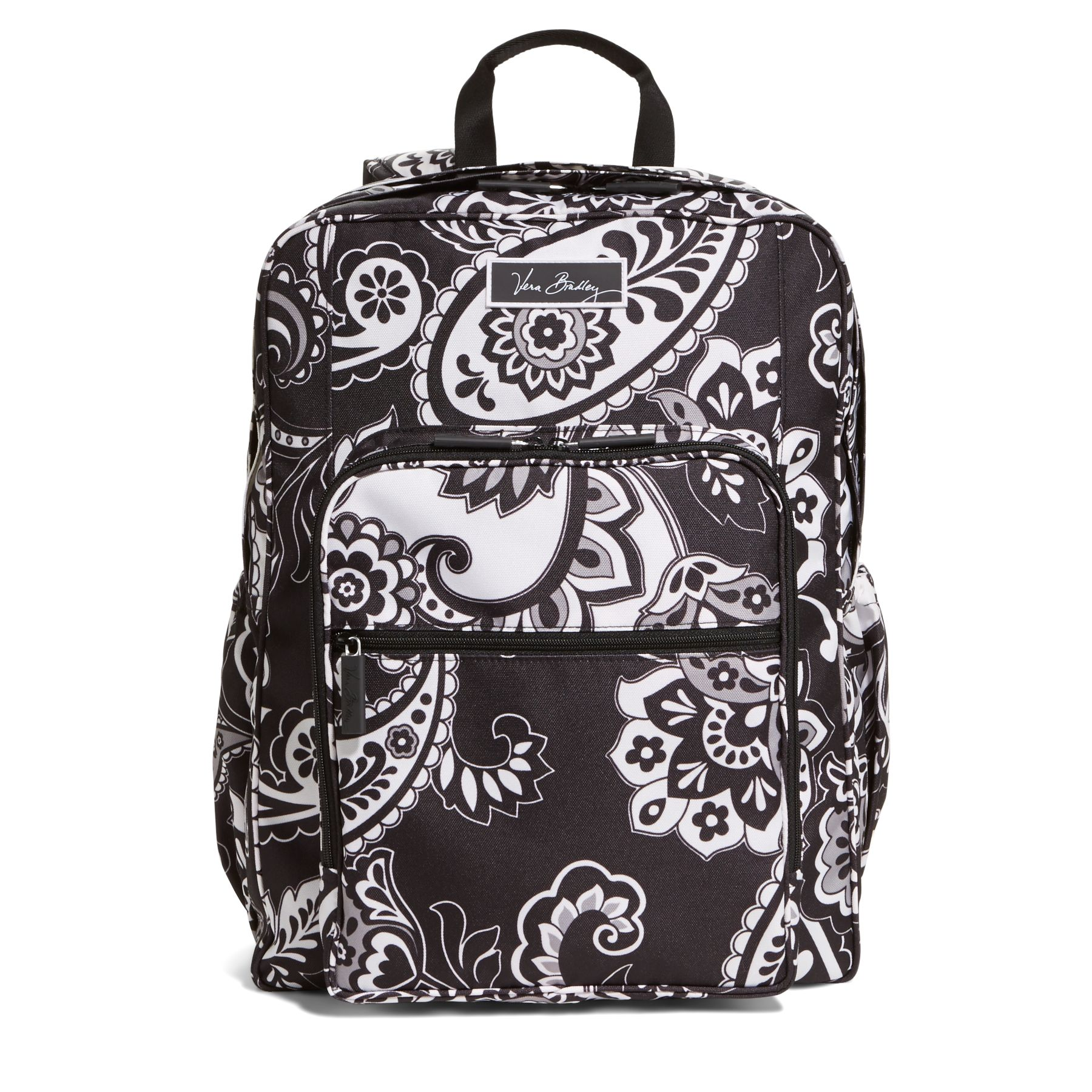 Vera Bradley Lighten Up Large Backpack in Midnight Paisley