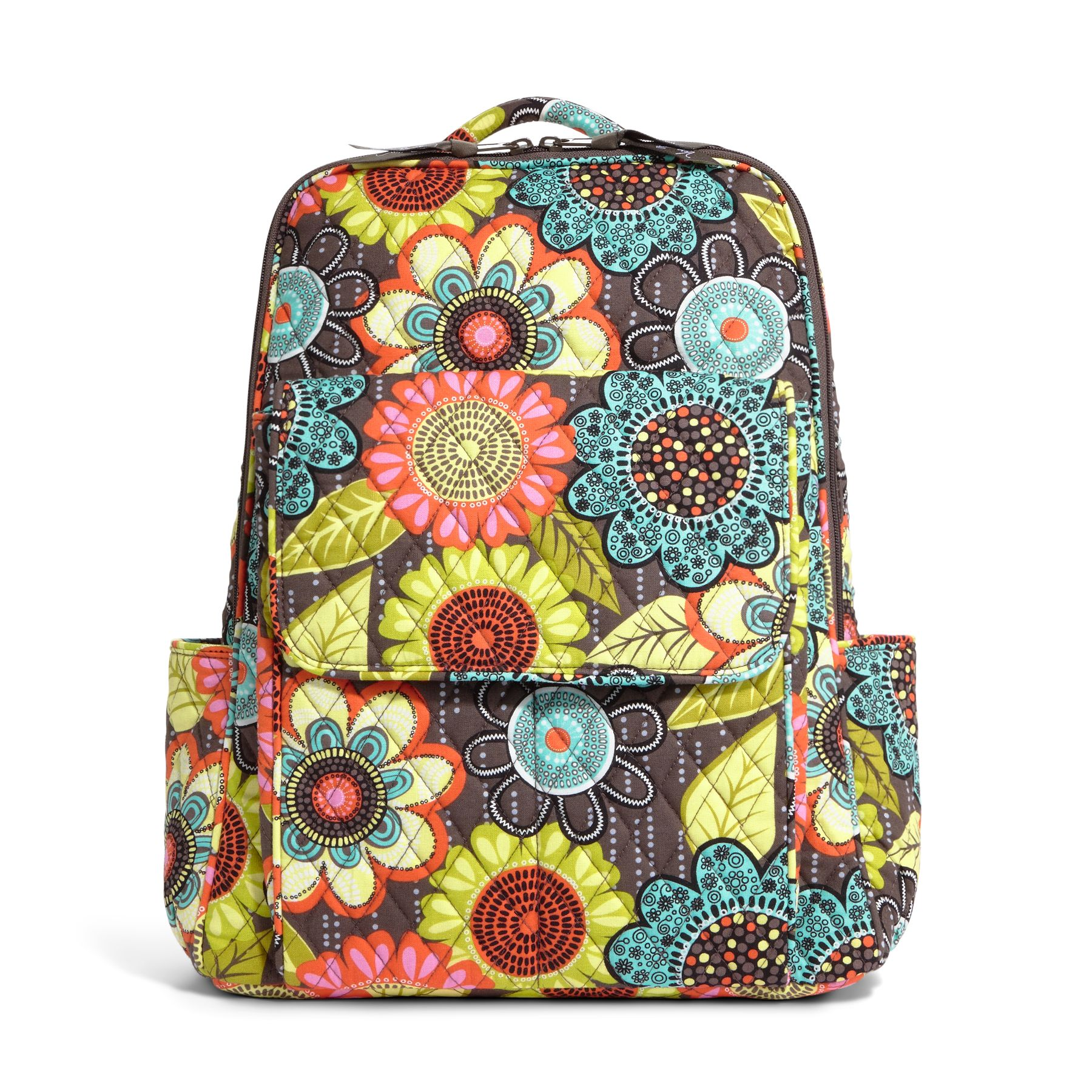 Vera Bradley Ultimate Backpack in Flower Shower