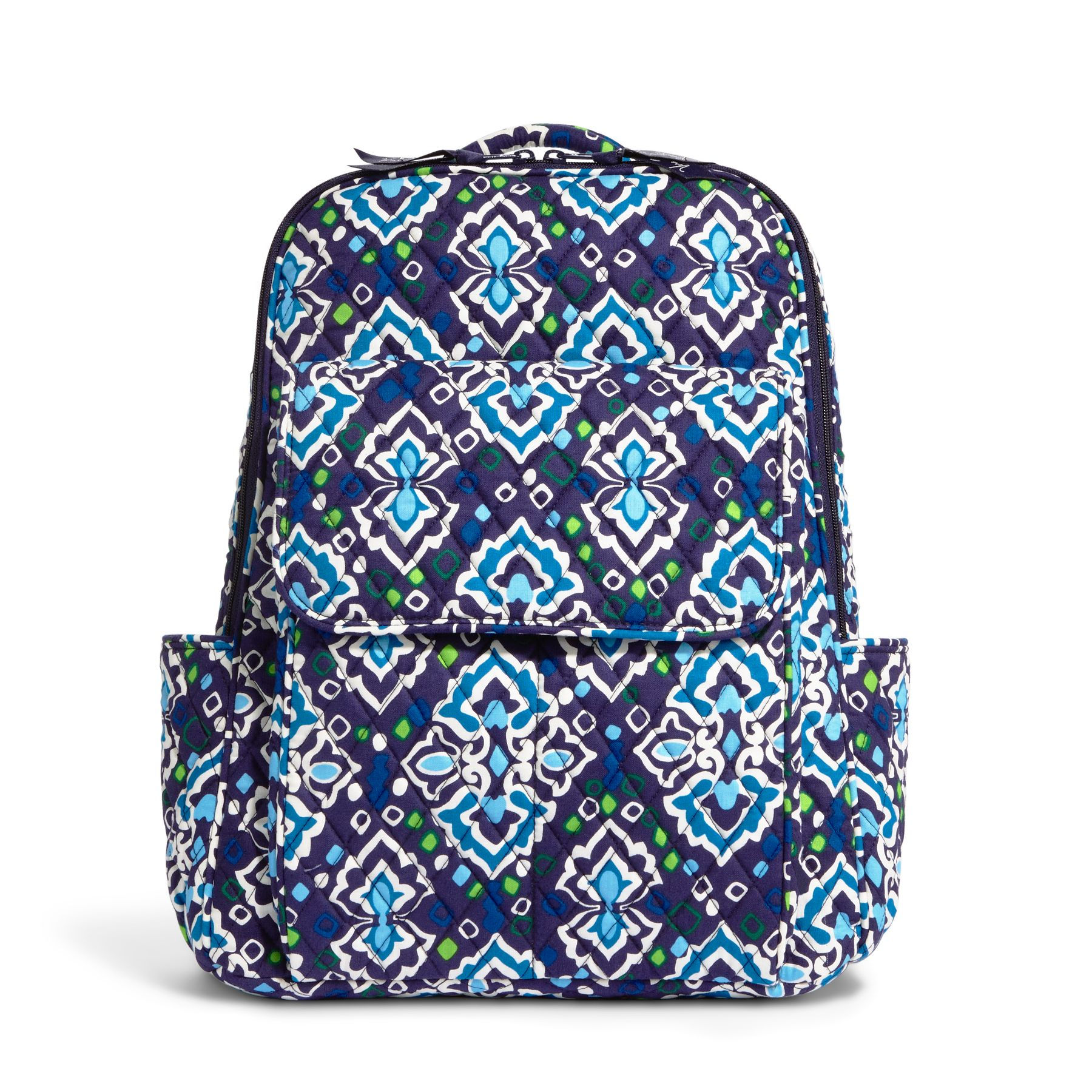Vera Bradley Ultimate Backpack in Ink Blue