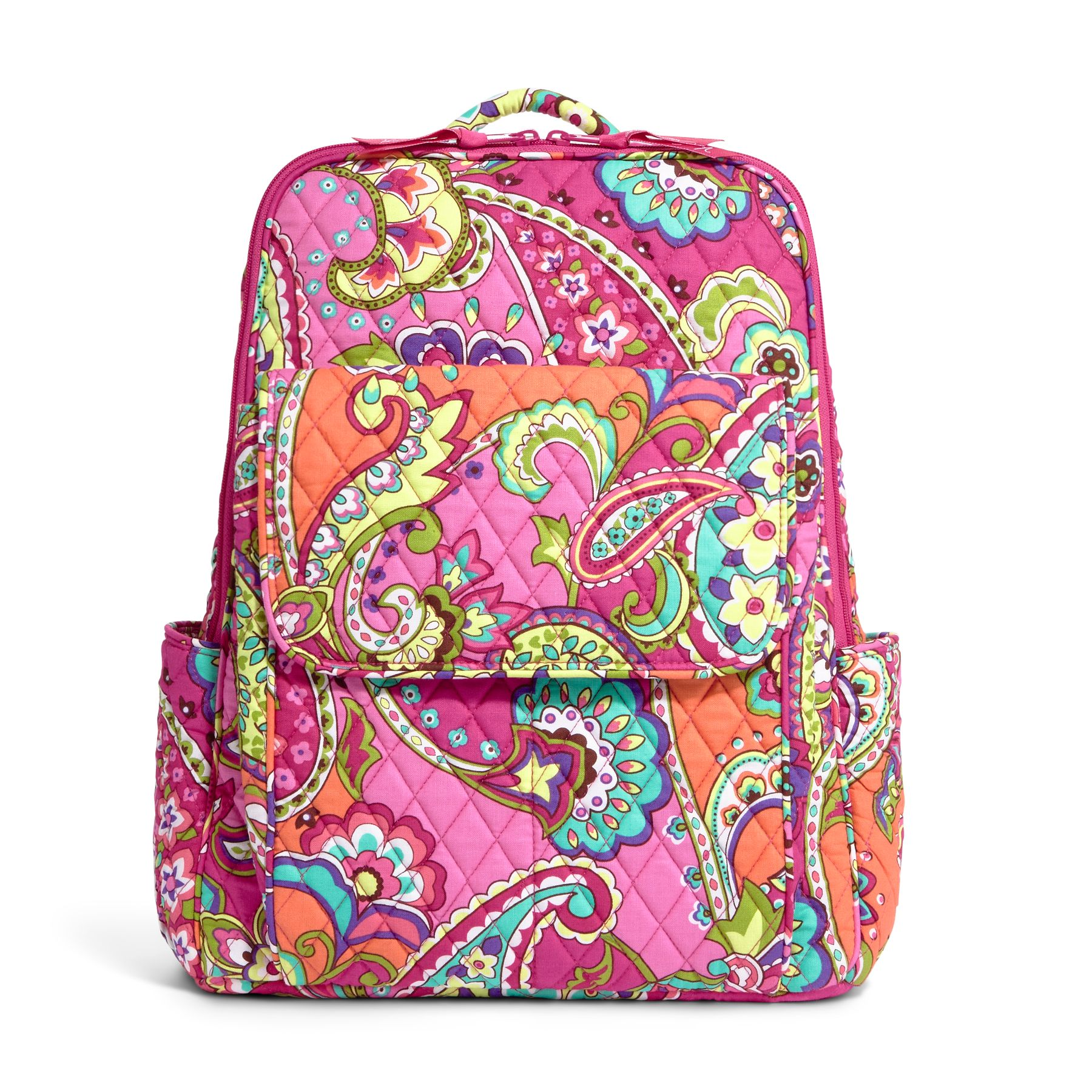 Vera Bradley Ultimate Backpack in Pink Swirls