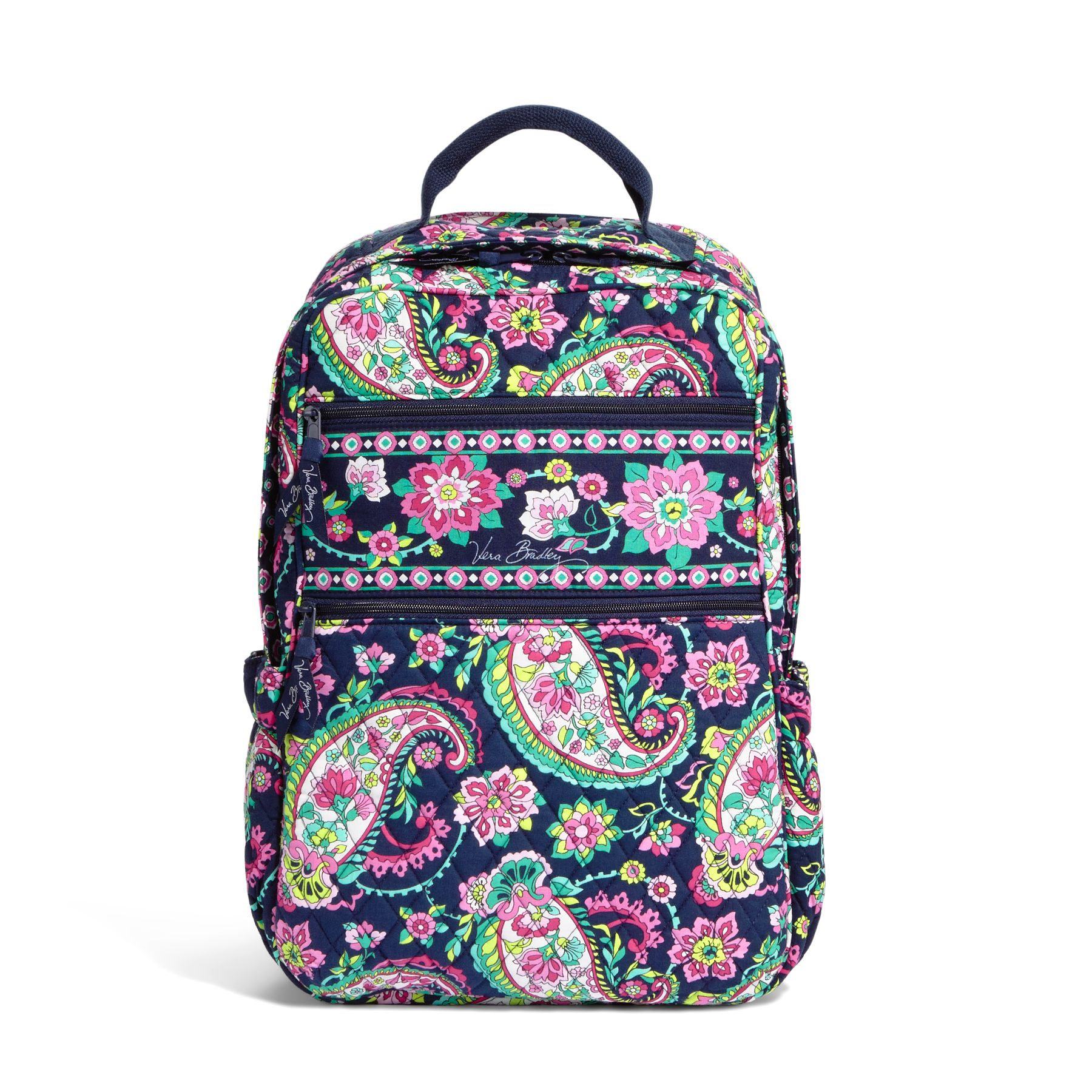 Vera Bradley Tech Backpack in Petal Paisley