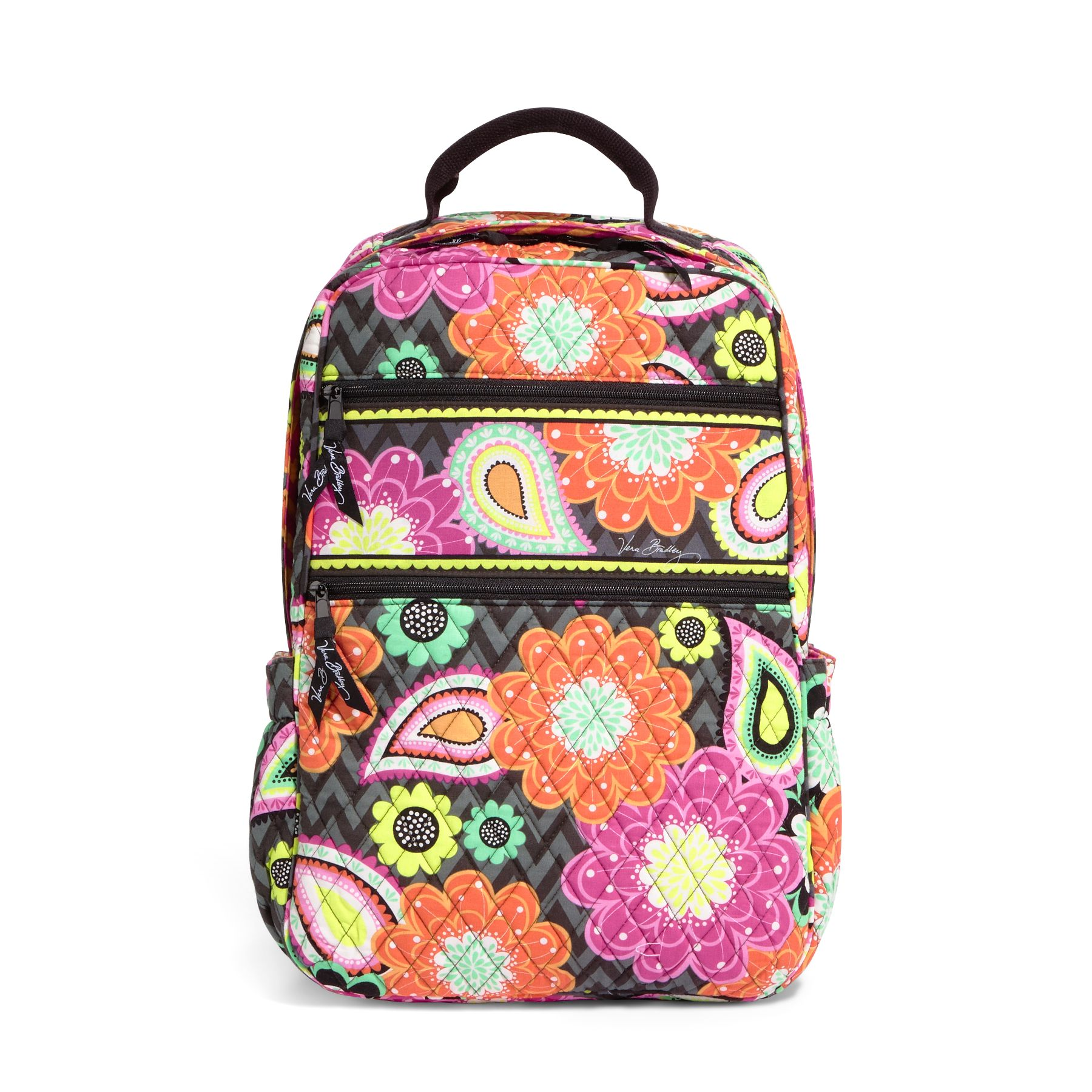 Vera Bradley Tech Backpack in Ziggy Zinnia
