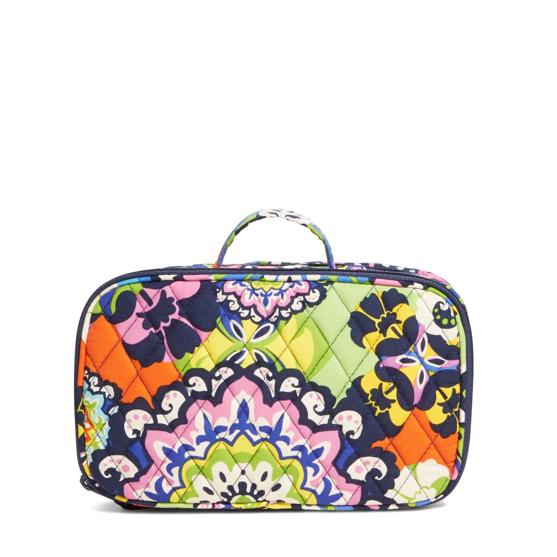 Vera Bradley Blush and Brush Makeup Case in Rio