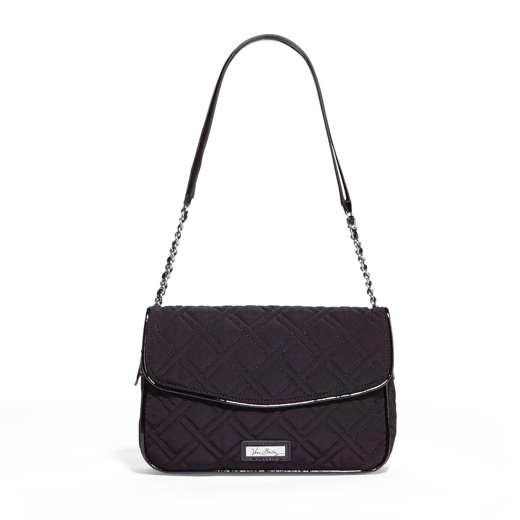 Vera Bradley Chain Shoulder Bag in Classic Black