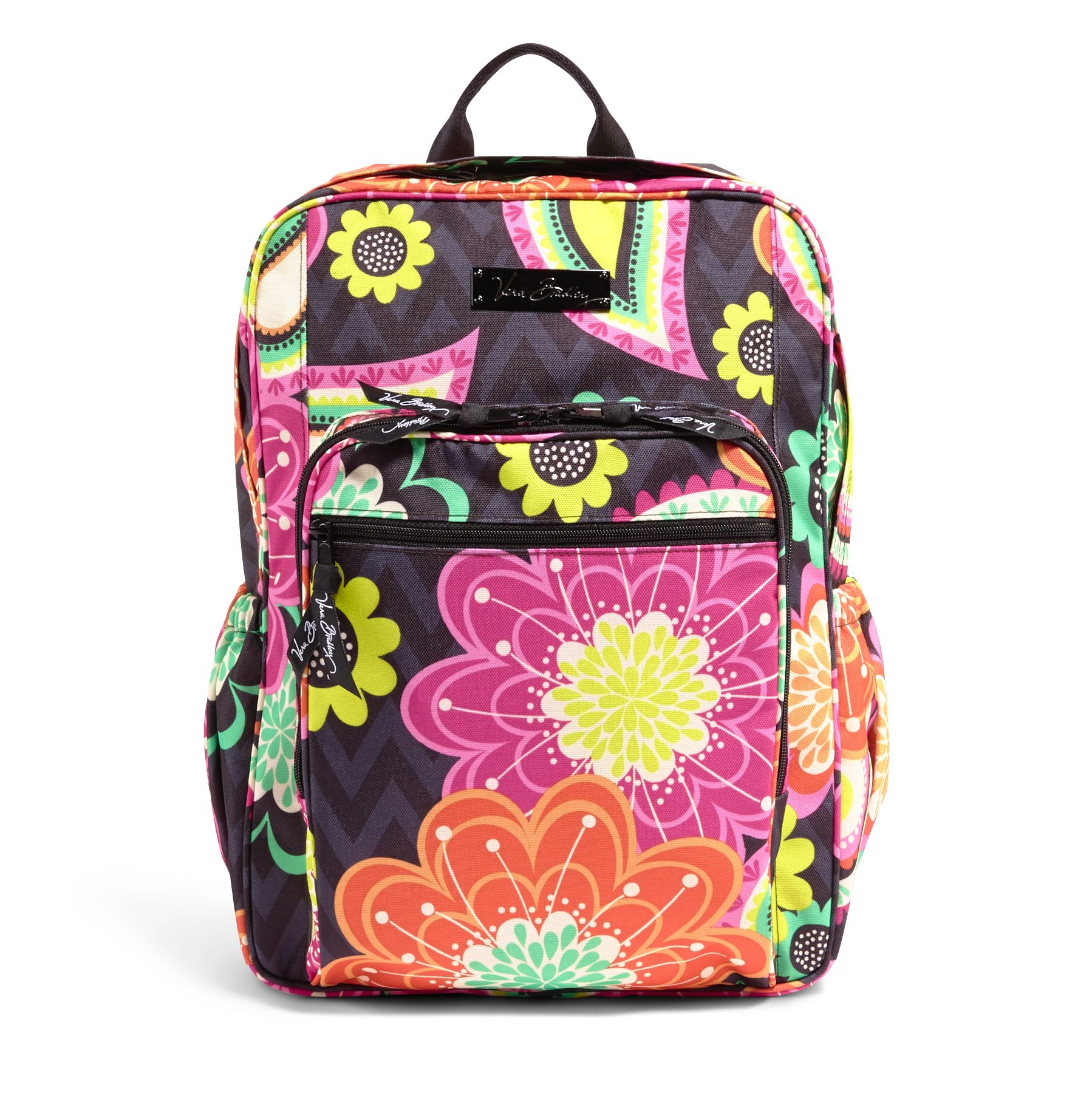Vera Bradley Lighten Up Medium Backpack in Ziggy Zinnia