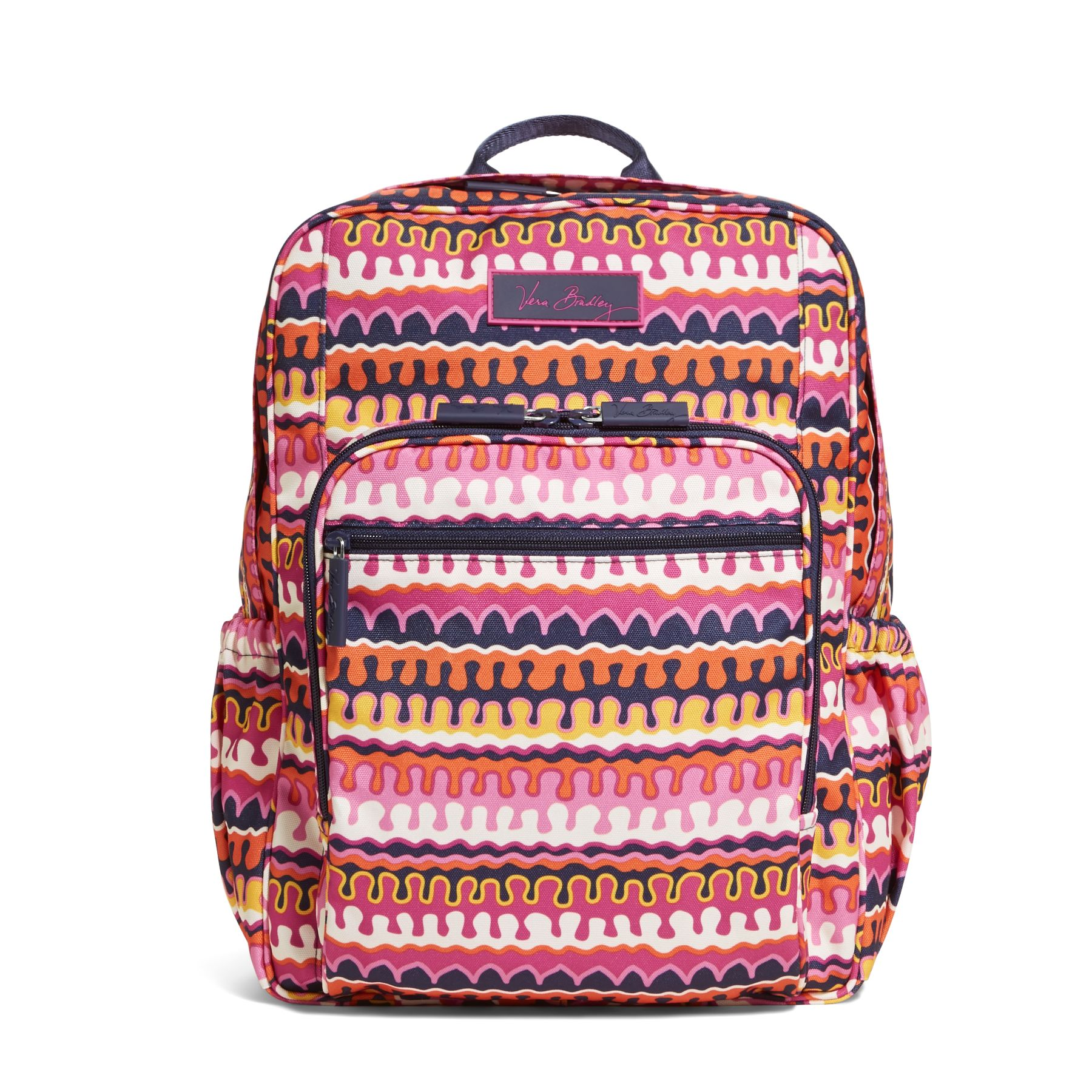 Vera Bradley Lighten Up Medium Backpack in Rio Squiggle