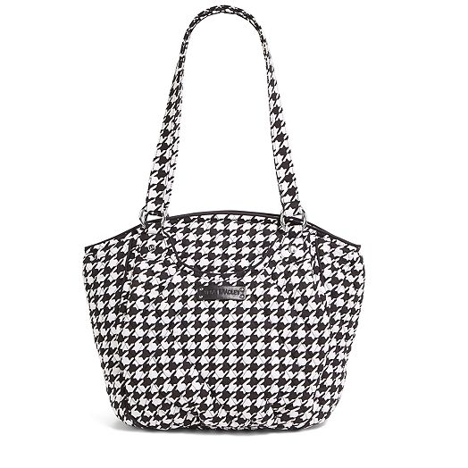 Glenna in Midnight Houndstooth