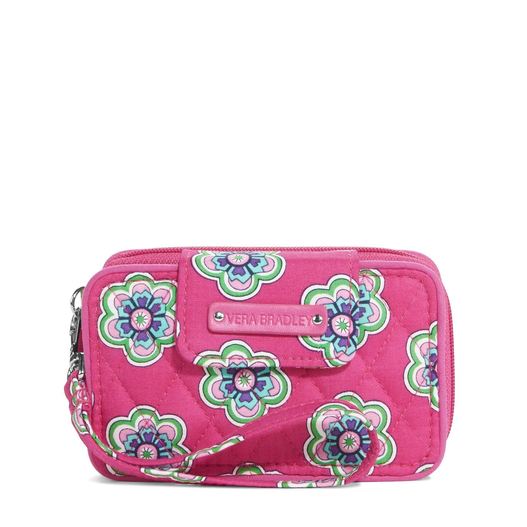 Vera Bradley Smartphone Wristlet 2.0 in Pink Swirls Flowers