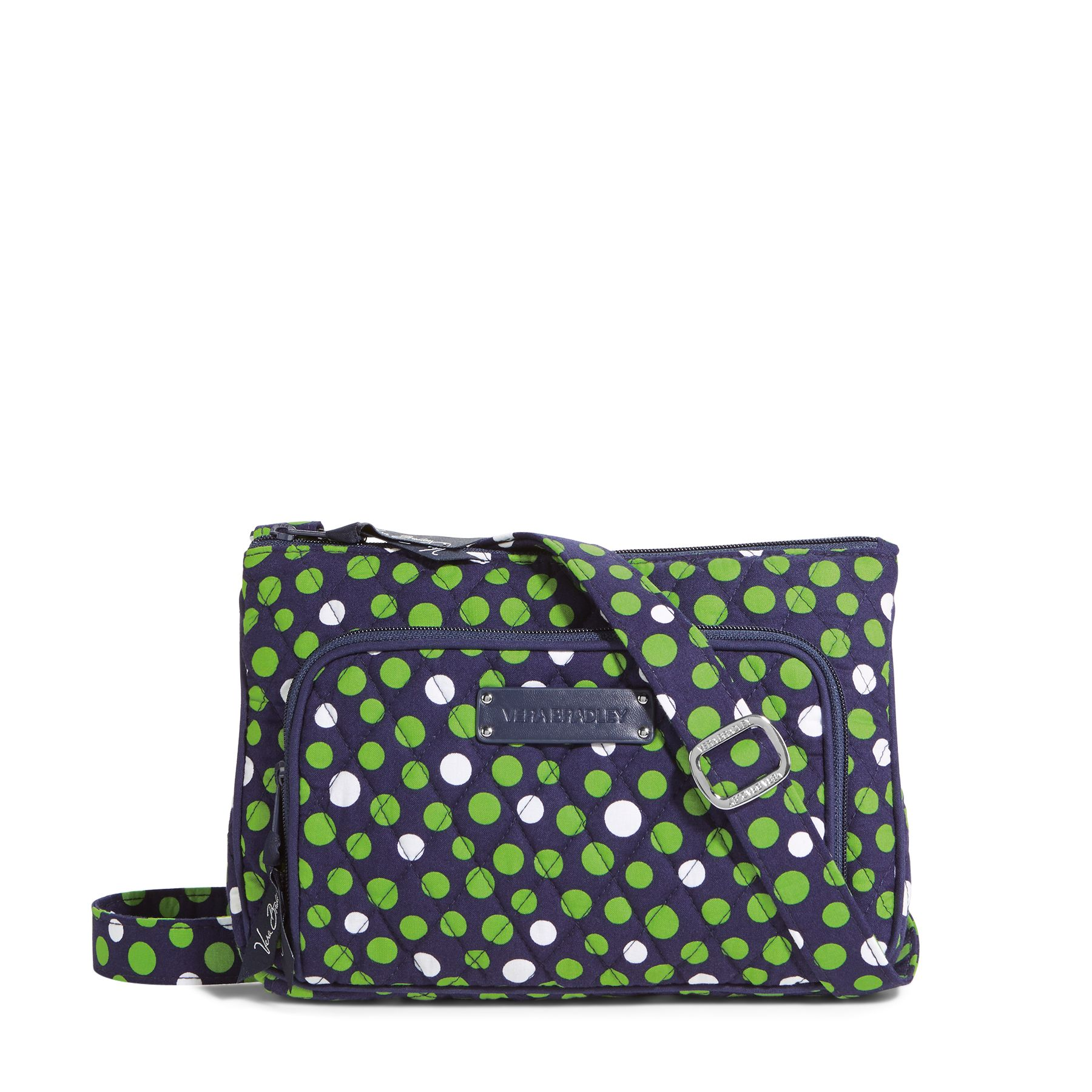 Vera Bradley Little Hipster Crossbody in Lucky Dots